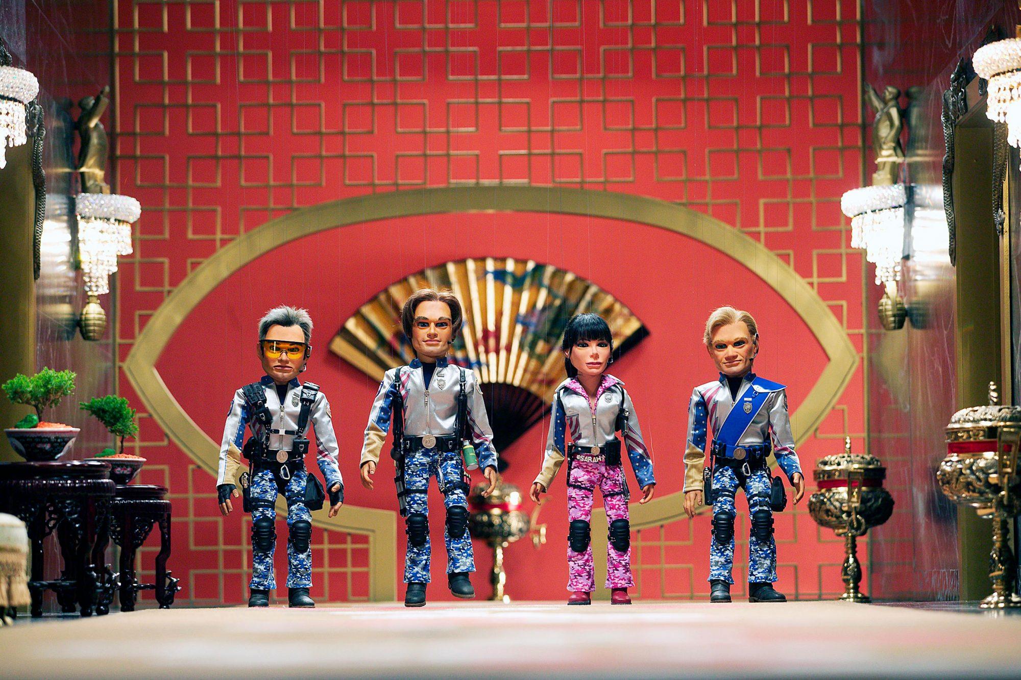 TEAM AMERICA: WORLD POLICE, Chris, Gary, Sarah, Joe, 2004, (c) Paramount/courtesy Everett Collection