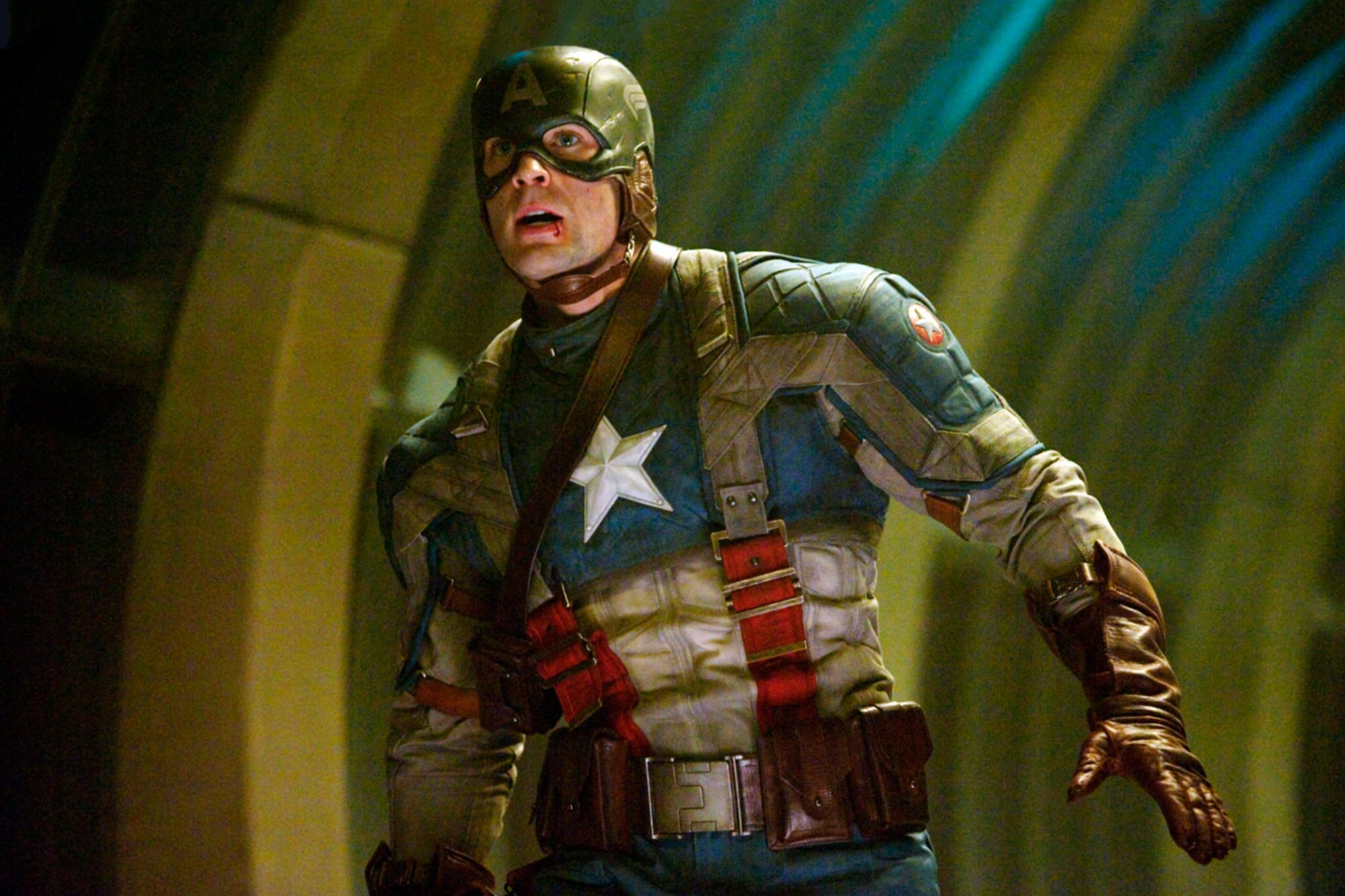 CAPTAIN AMERICA: THE FIRST AVENGER, Chris Evans, 2011. Ph: Jay Maidment/Marvel Studios–©2011 MVLFFLL