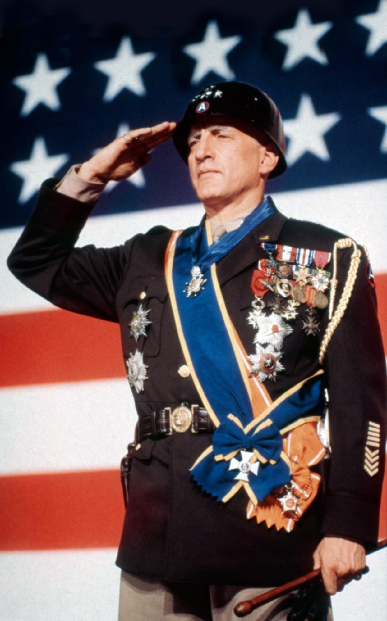 PATTON, George C. Scott, 1970. TM and Copyright © 20th Century Fox Film Corp. All rights reserved. C