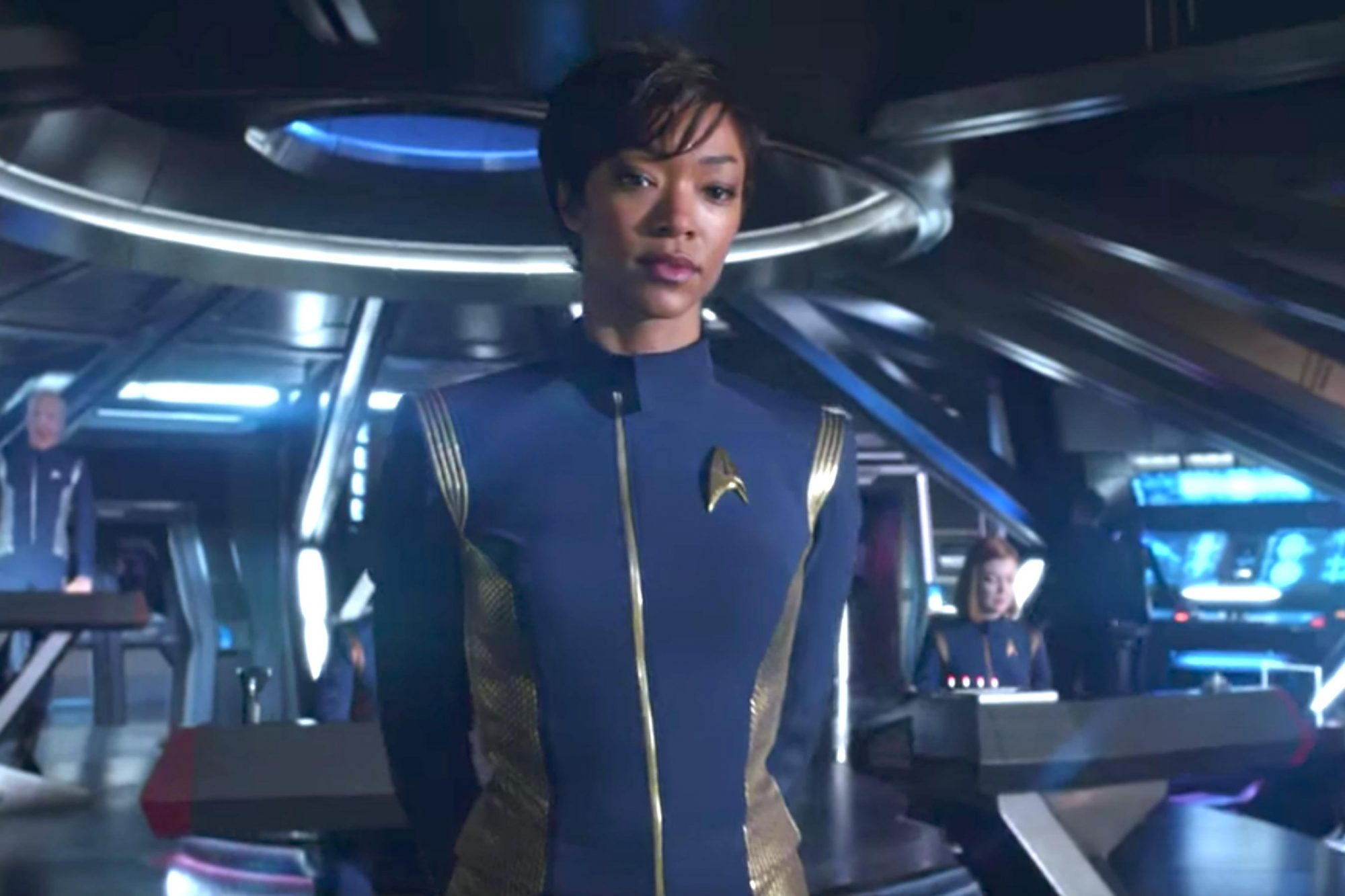 Star Trek: Discovery - First Look Trailer (screen grab) CR: CBS