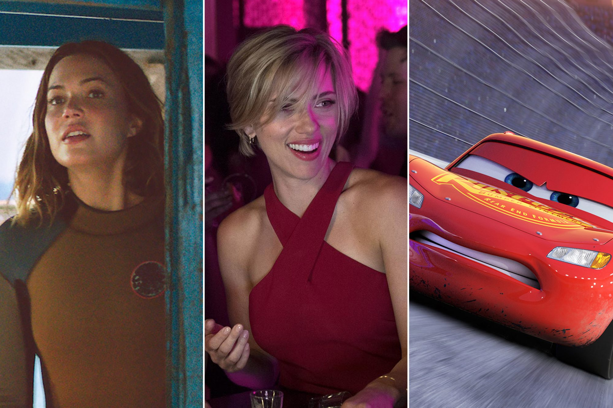 47 Meters Down/ Rough Night/ Cars 3