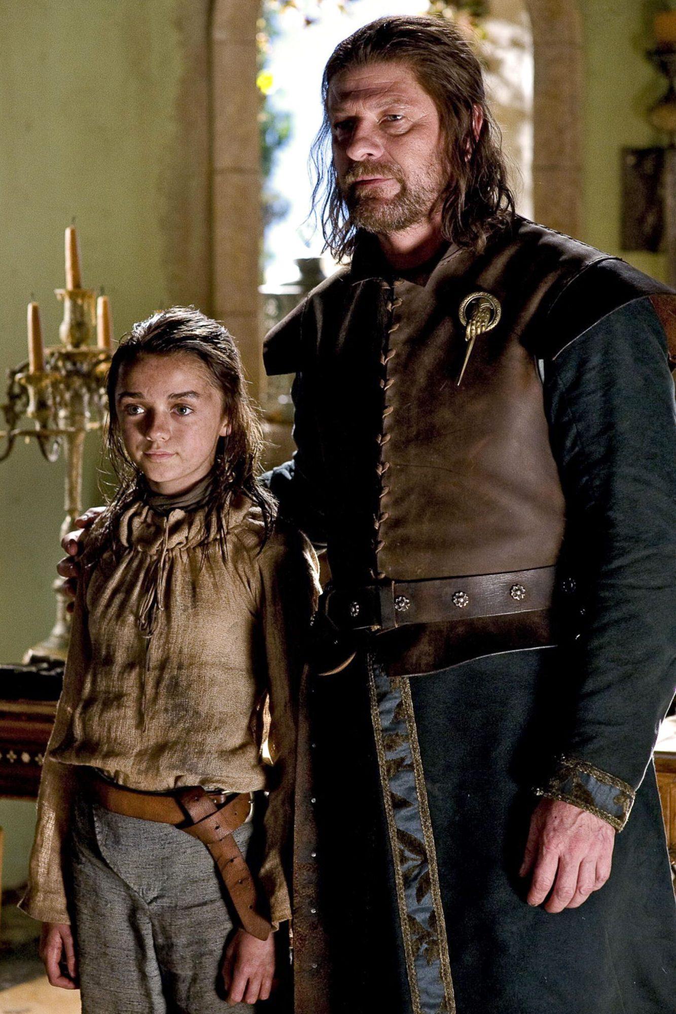 Game of Thrones (2011)Season 1, Episode 5Maisie Williams and Sean Bean