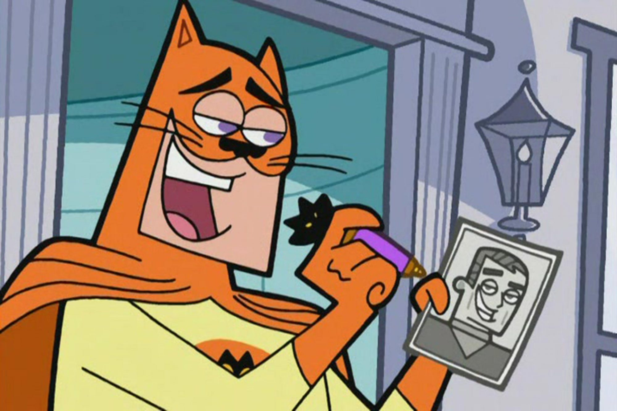 Adam West's Catman on Fairly OddParents