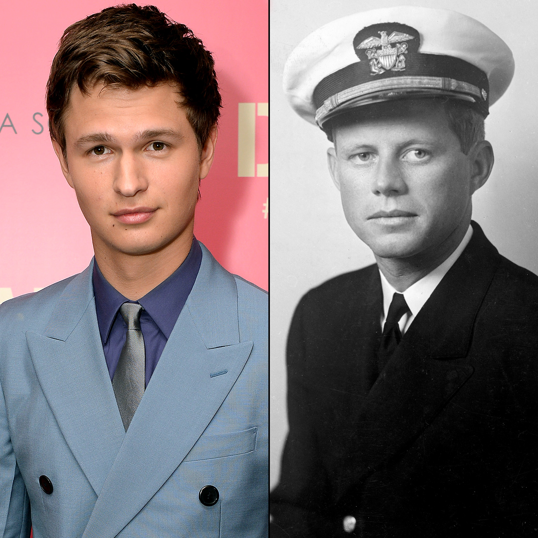 Ansel Elgort and JFK