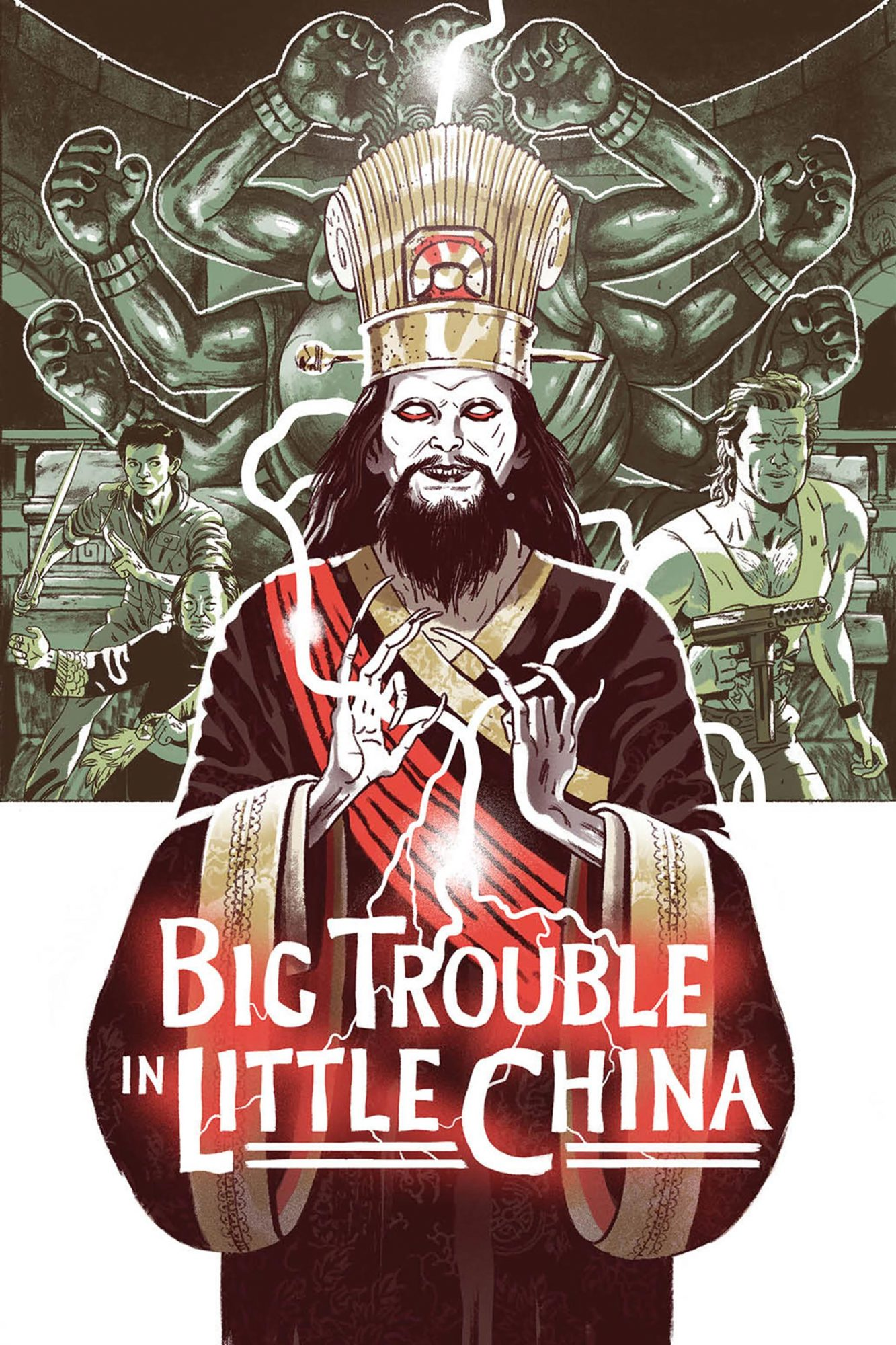 Big Trouble in Little China: Old Man Jack CR: Boom! Studios/20th Century Fox