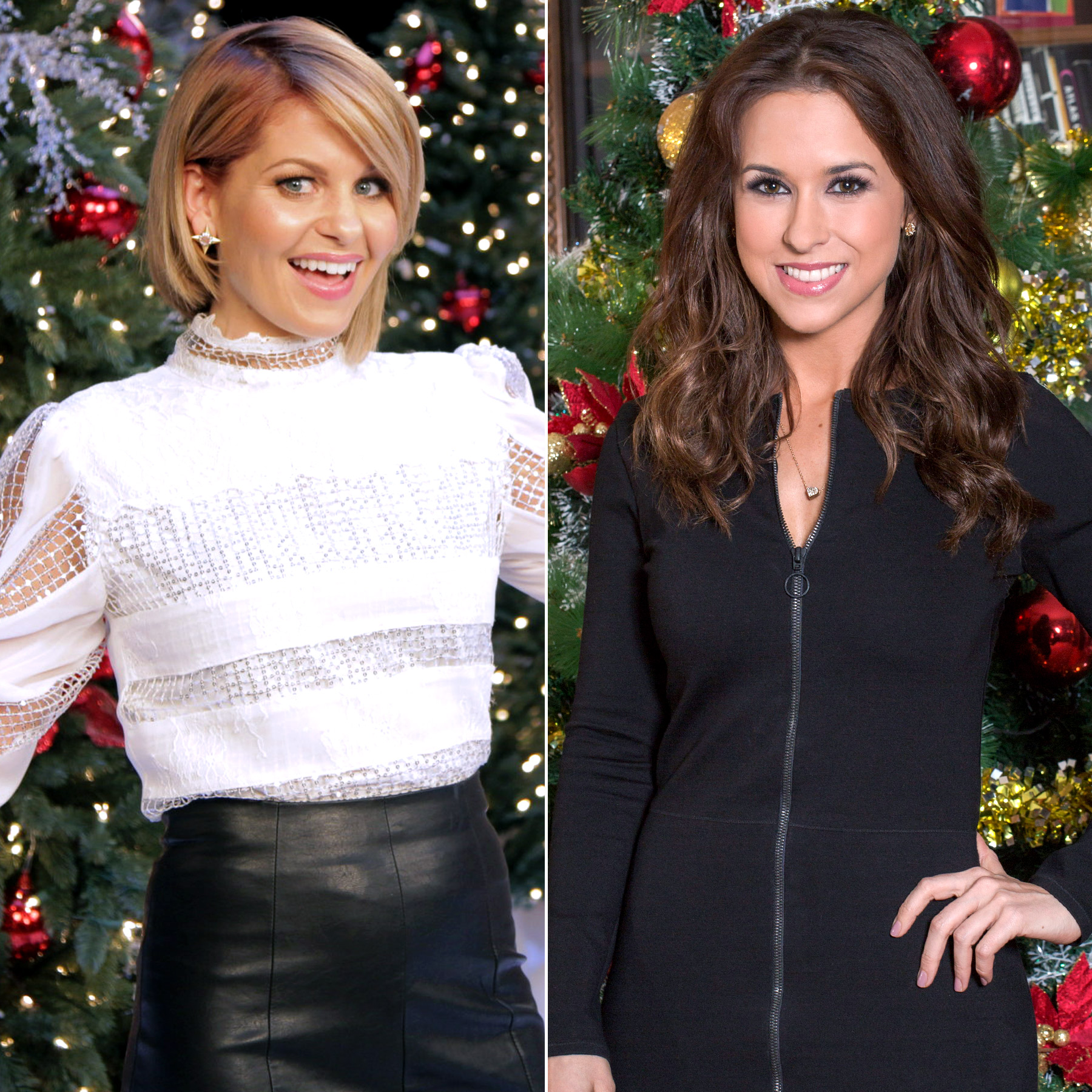 Candice Cameron and Lacey Chabert