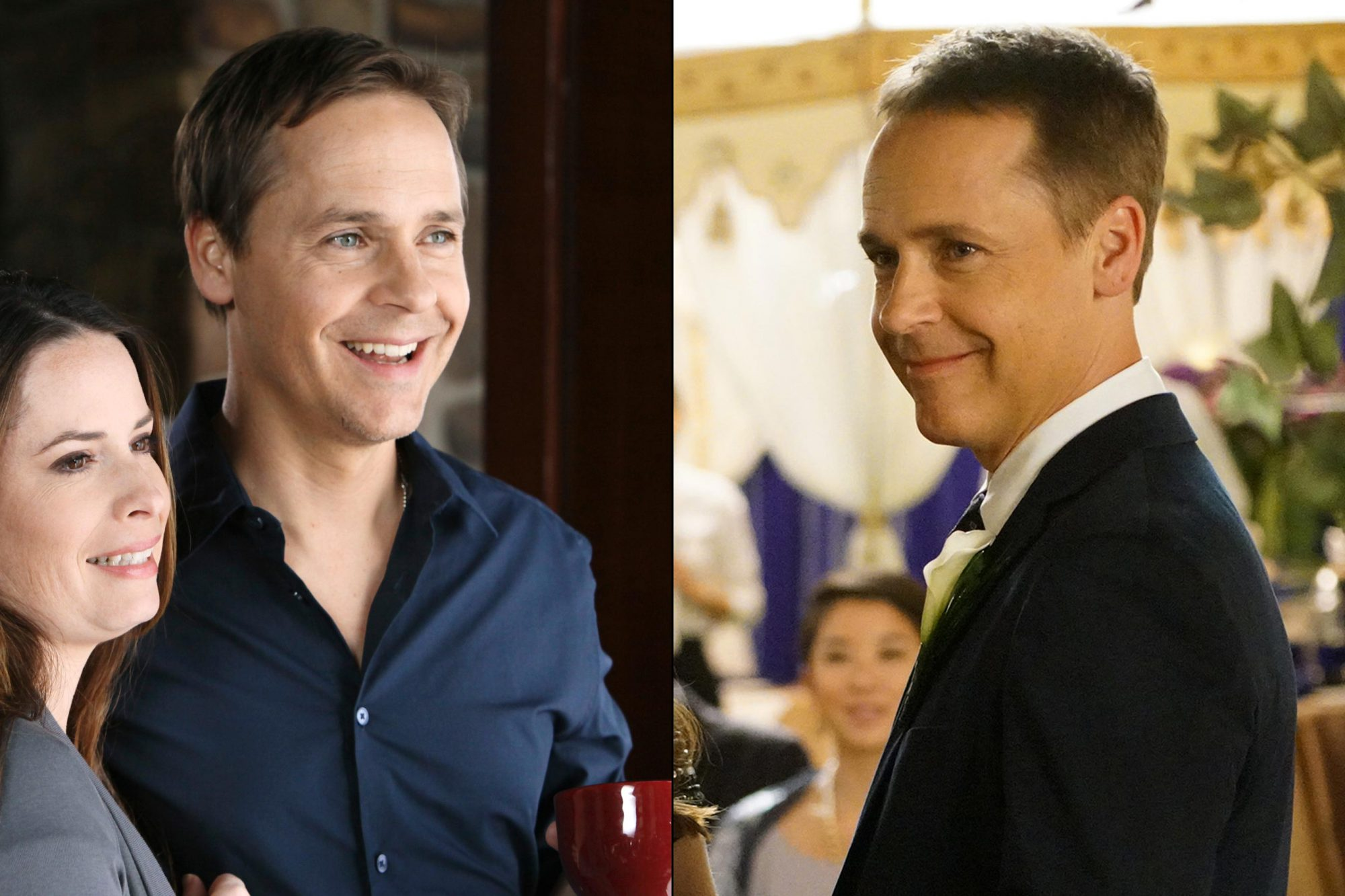 Chad Lowe in season 1 (left) and season 7 (right)