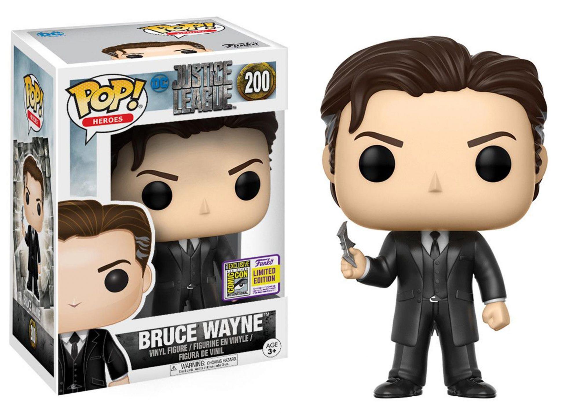 justice league bruce wayne