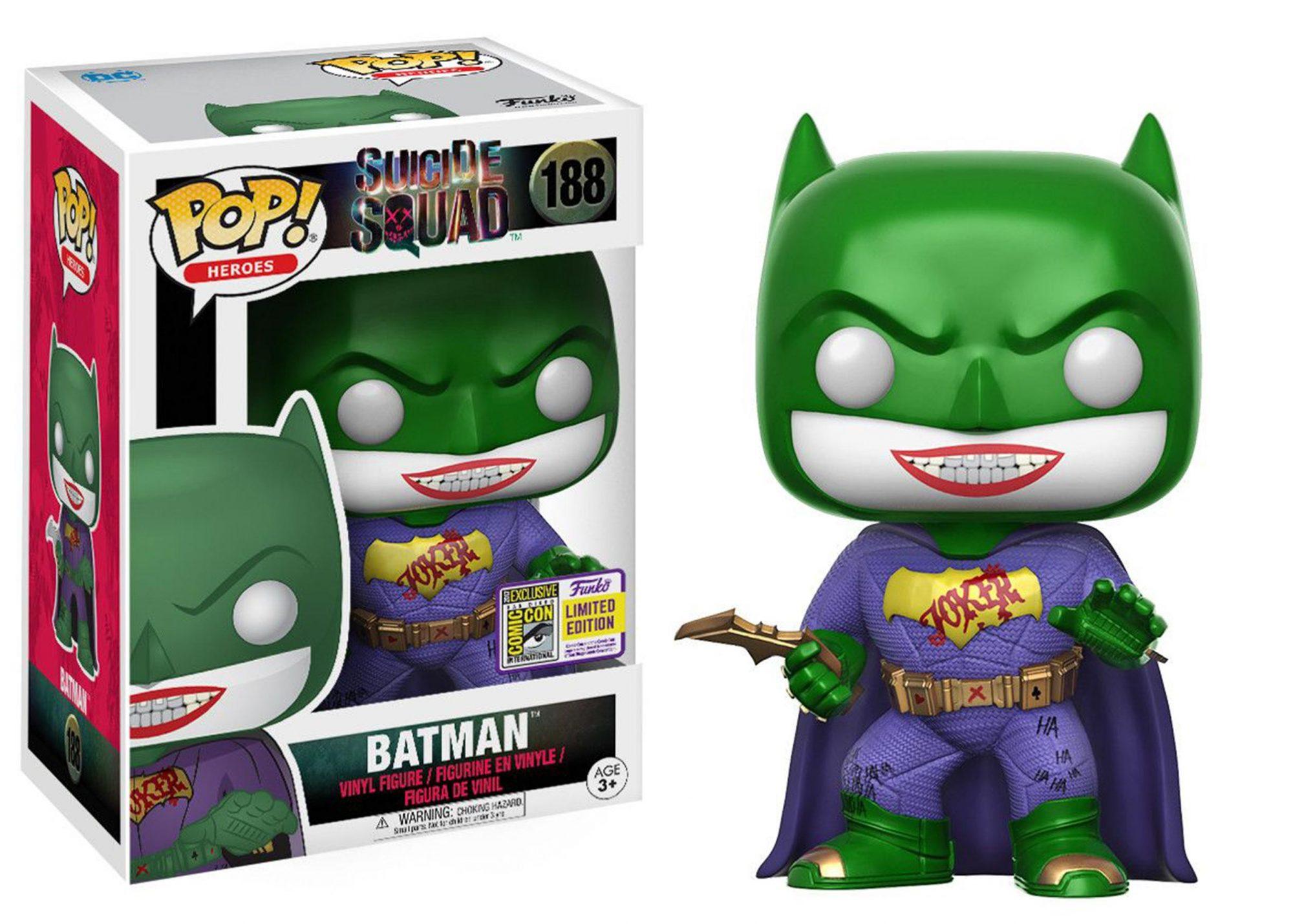 Suicide squad joker batman