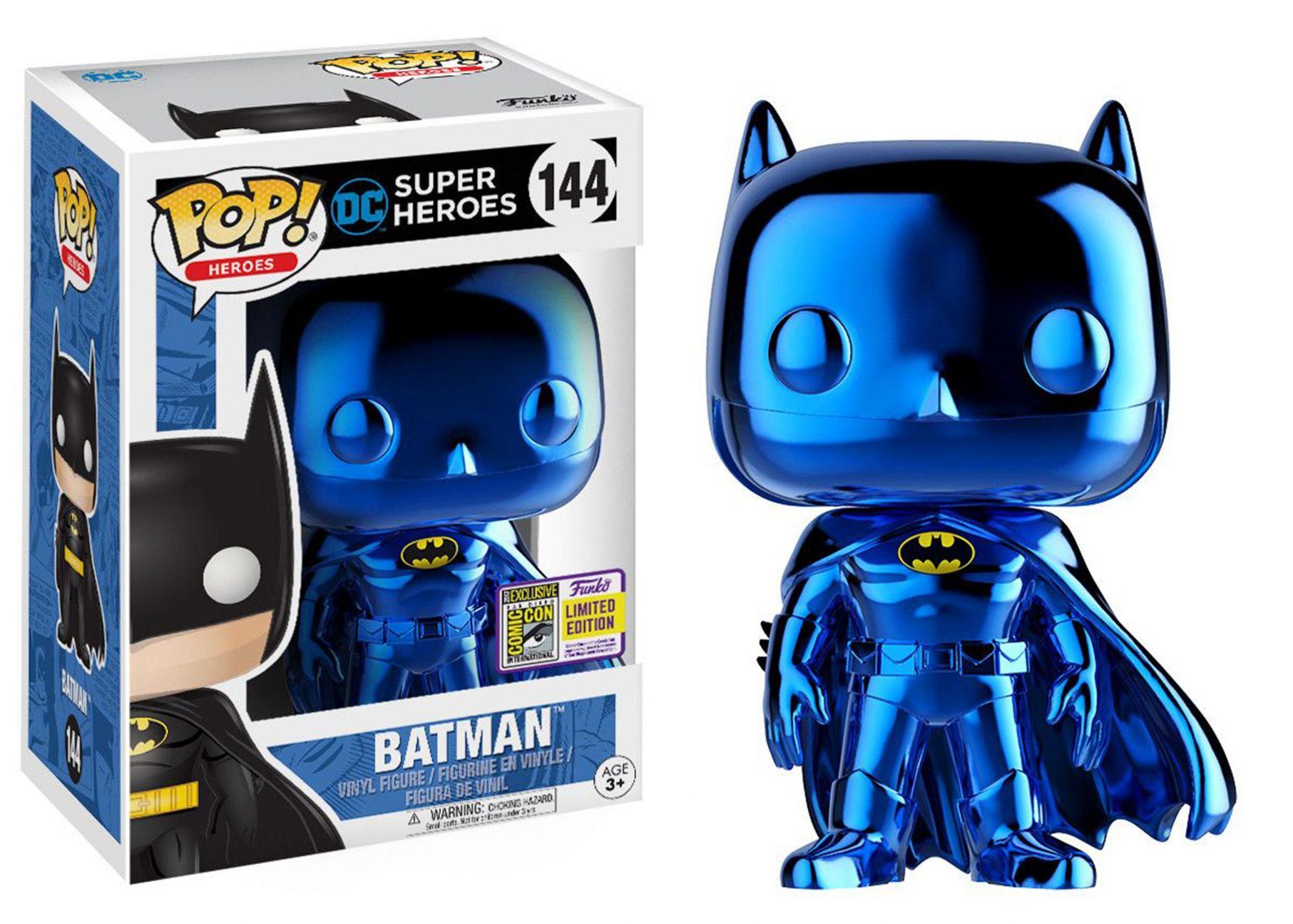 metallic blue batman