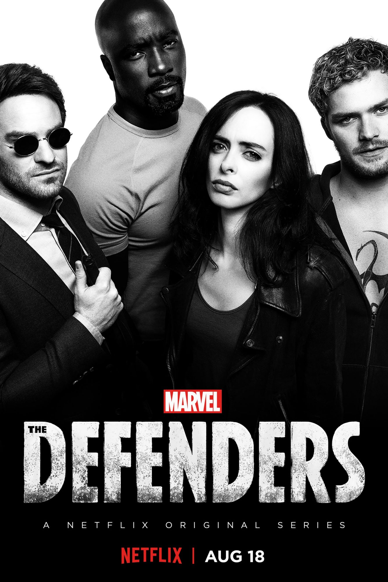 """MARVEL'S THE DEFENDERS"" Key Art CR: Netflix"