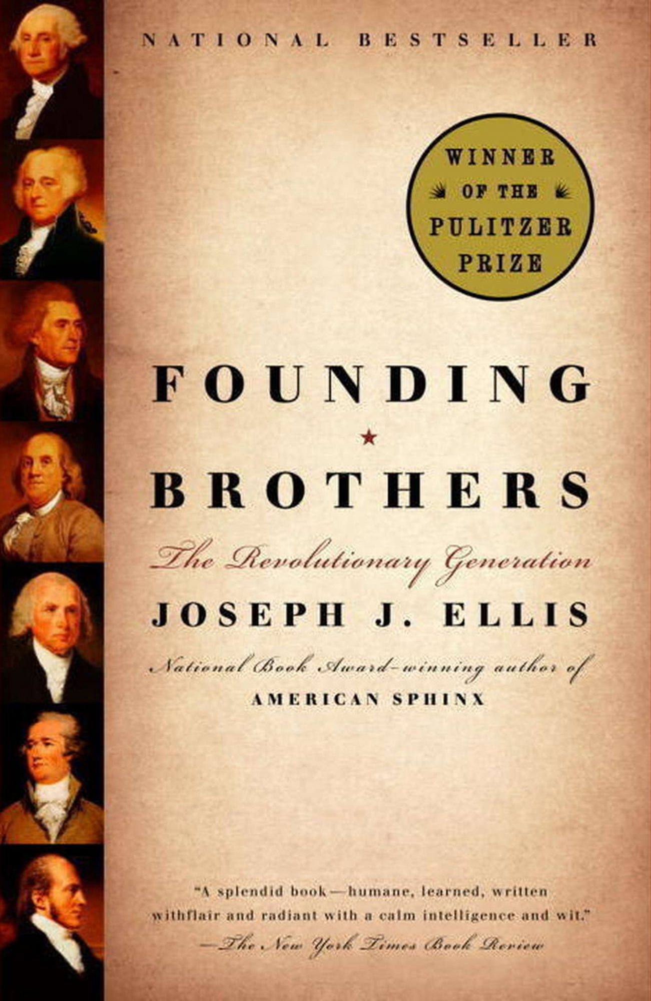 Joseph Ellis, Founding Brothers