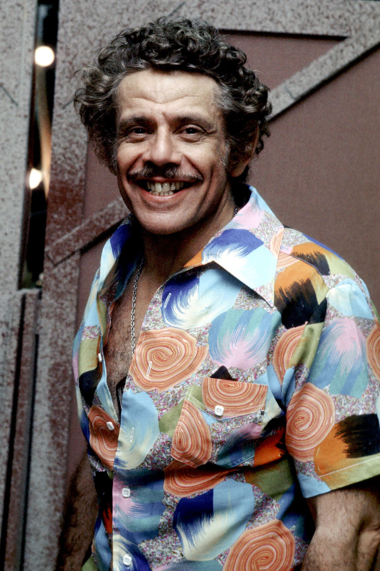 "Jerry Stiller Backstage After Performing in ""The Ritz"" - January 1, 1975"