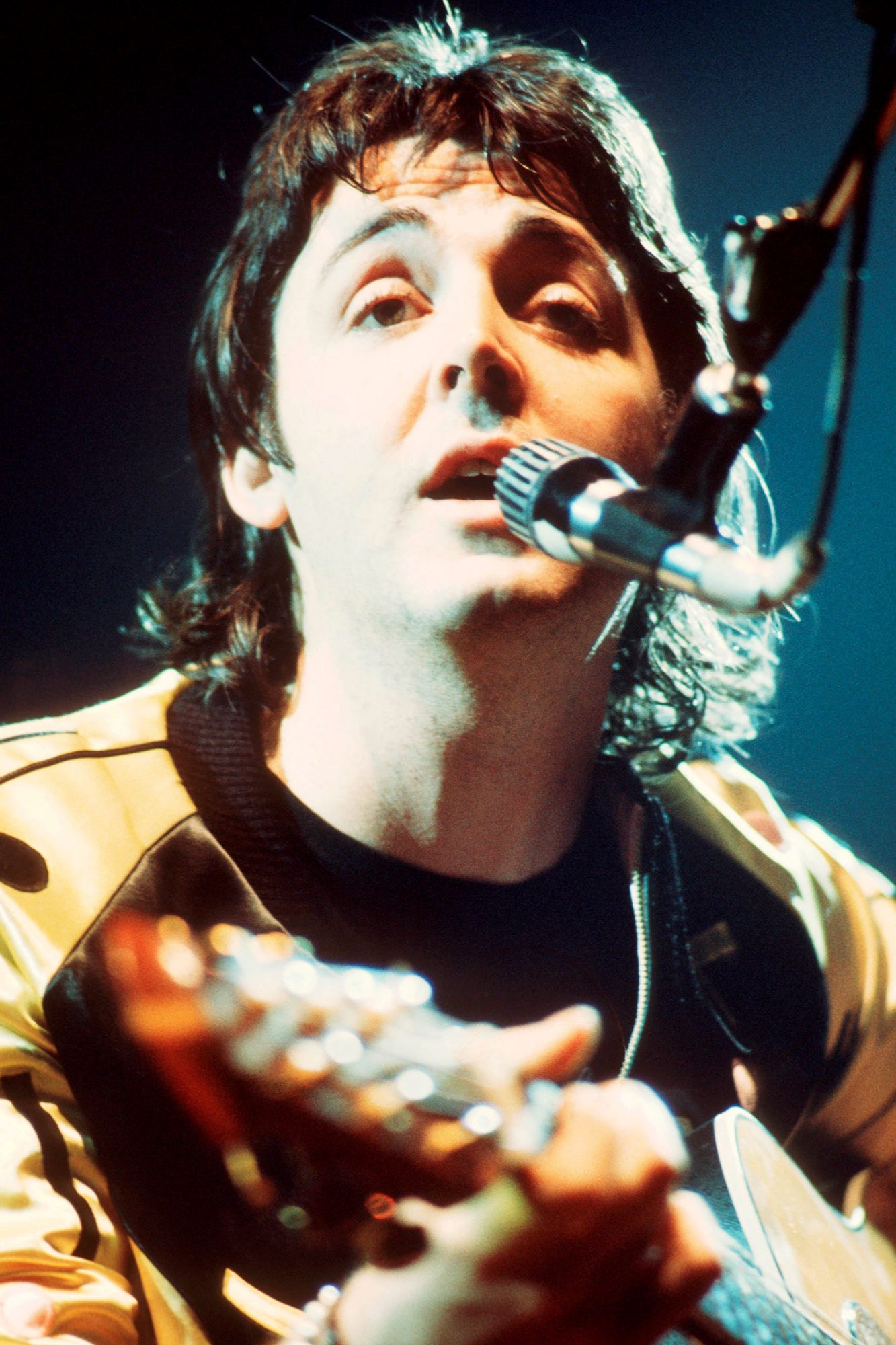 Paul McCartney On Stage With Wings