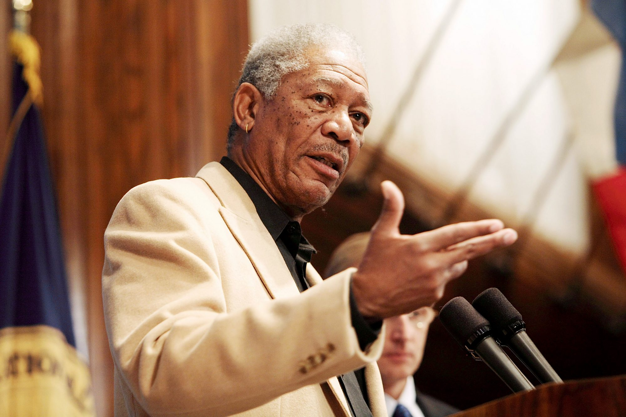 The National Press Club Newsmaker Luncheon Program with Morgan Freeman's Grenada Relief Fund