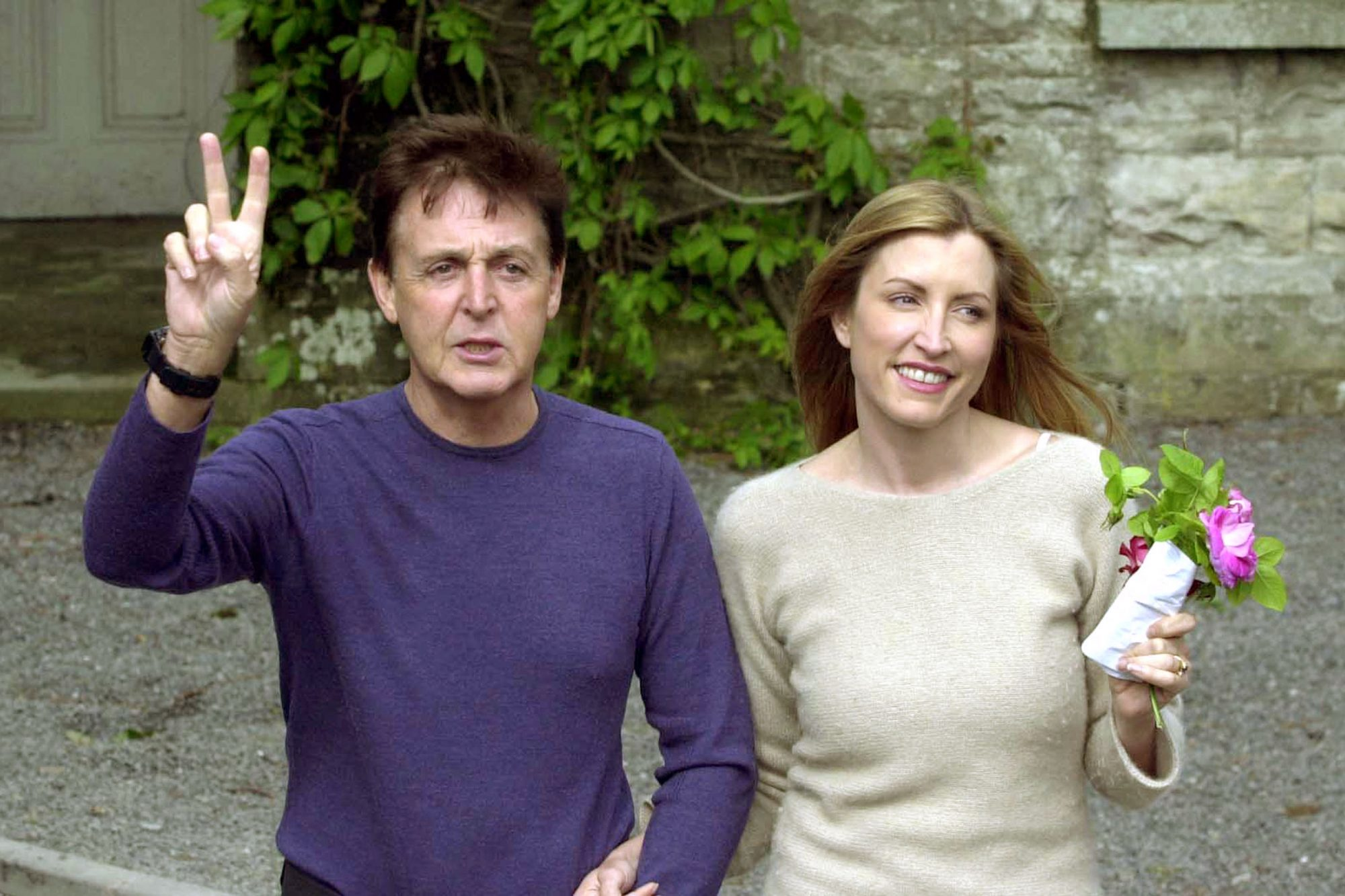 {FILE PHOTO) Sir Paul And Heather Mills Announce Pregnancy