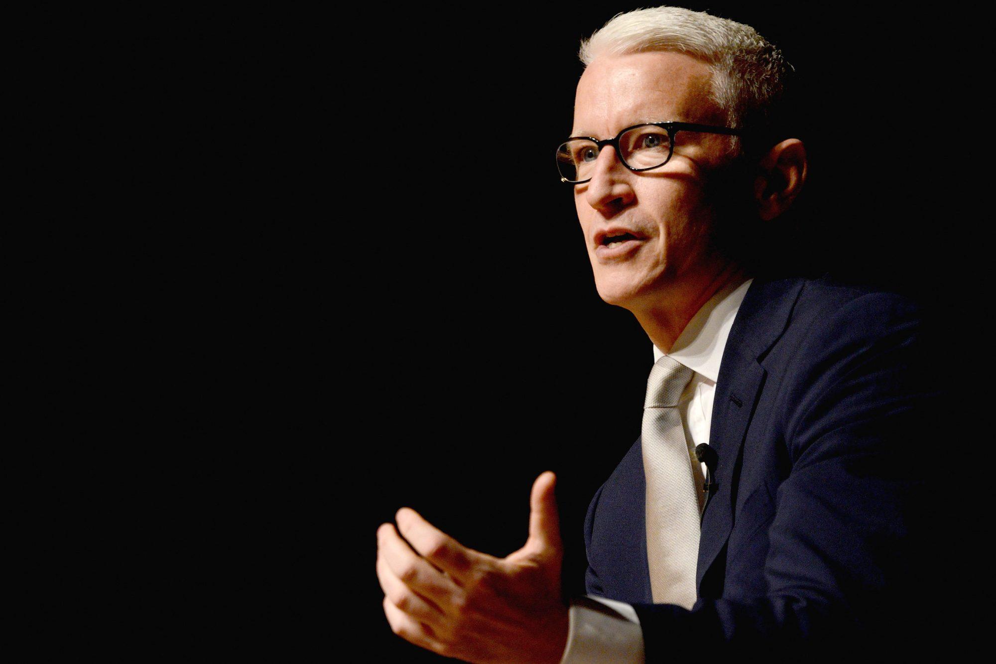 Anderson Cooper Speaks At The Norfolk Forum 2015-2016