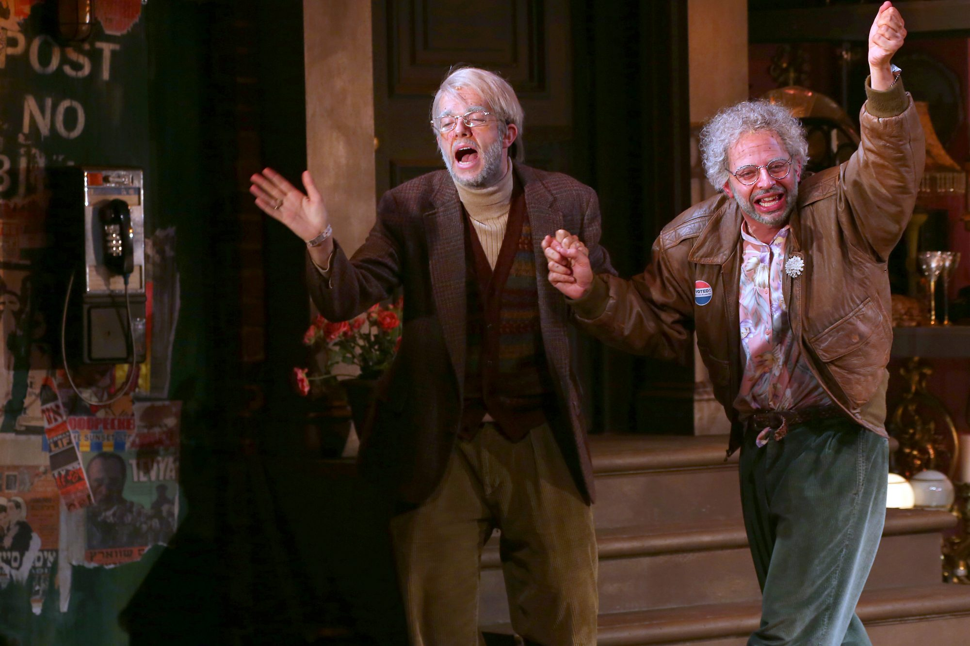 """Oh, Hello On Broadway"" Opening Night - Arrivals & Curtain Call"