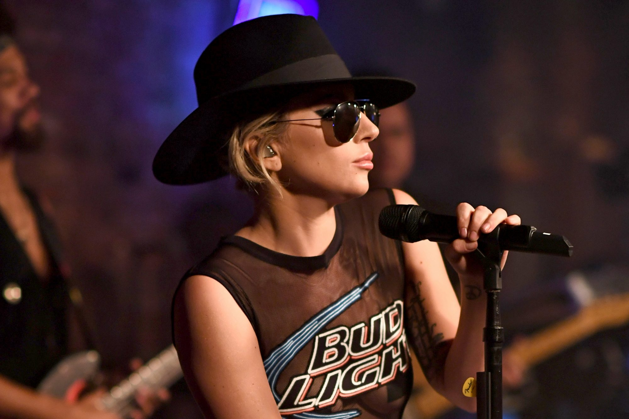 Bud Light X Lady Gaga Dive Bar Tour In NYC