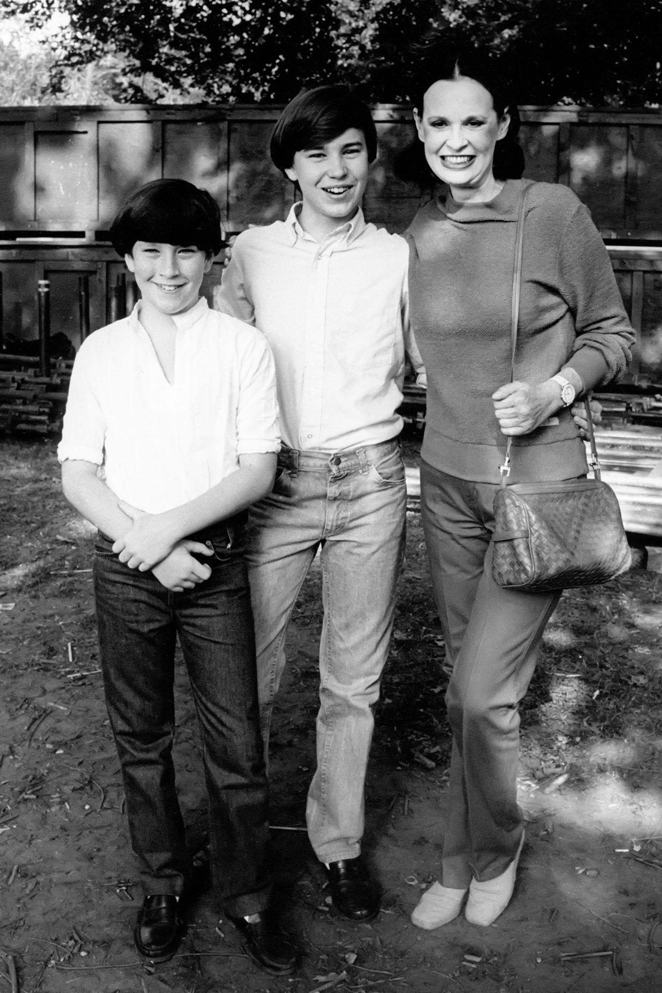 Gloria Vanderbilt and sons Anderson Cooper & Carter Cooper