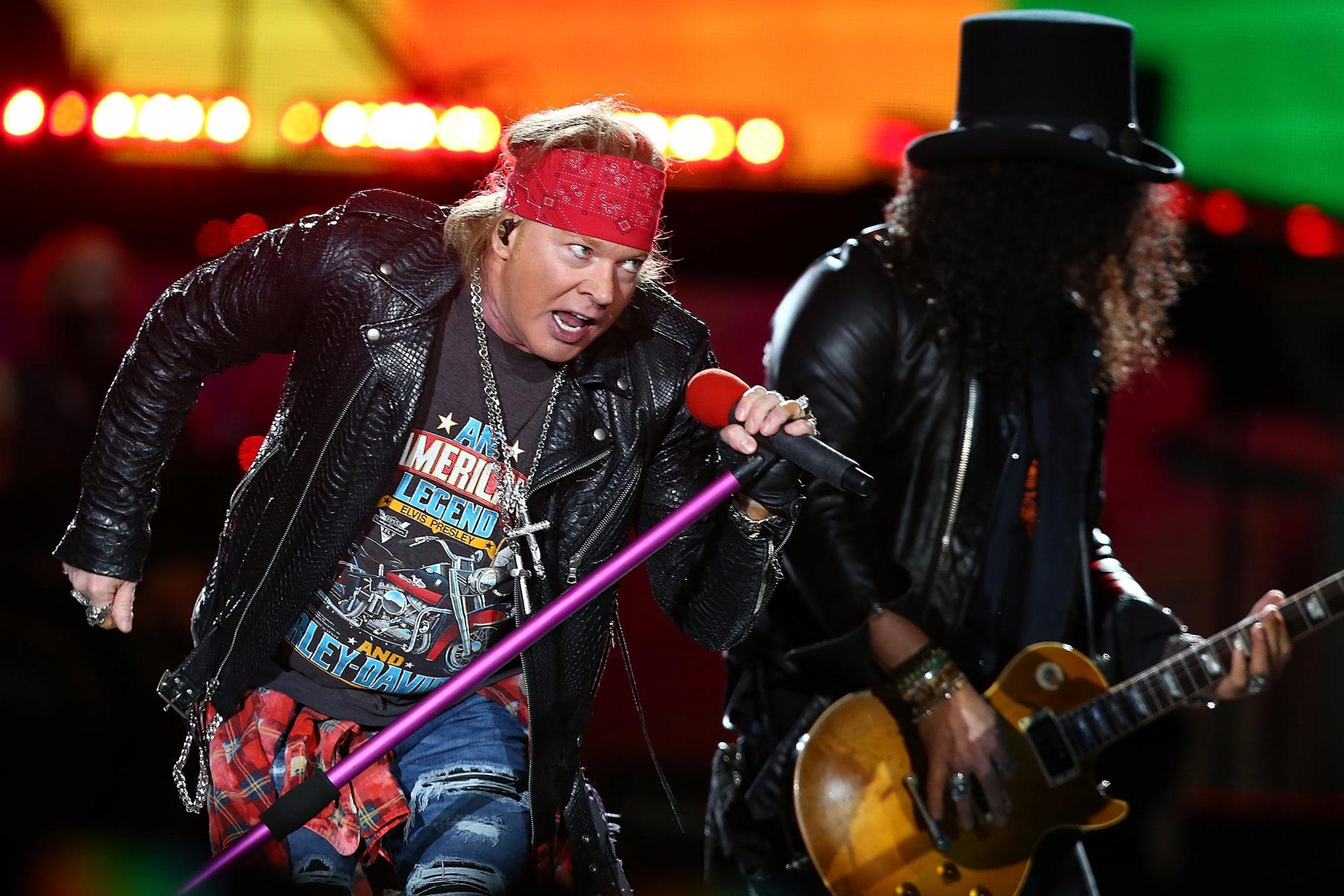 Guns 'N' Roses 'Not In This Lifetime' Tour - Perth