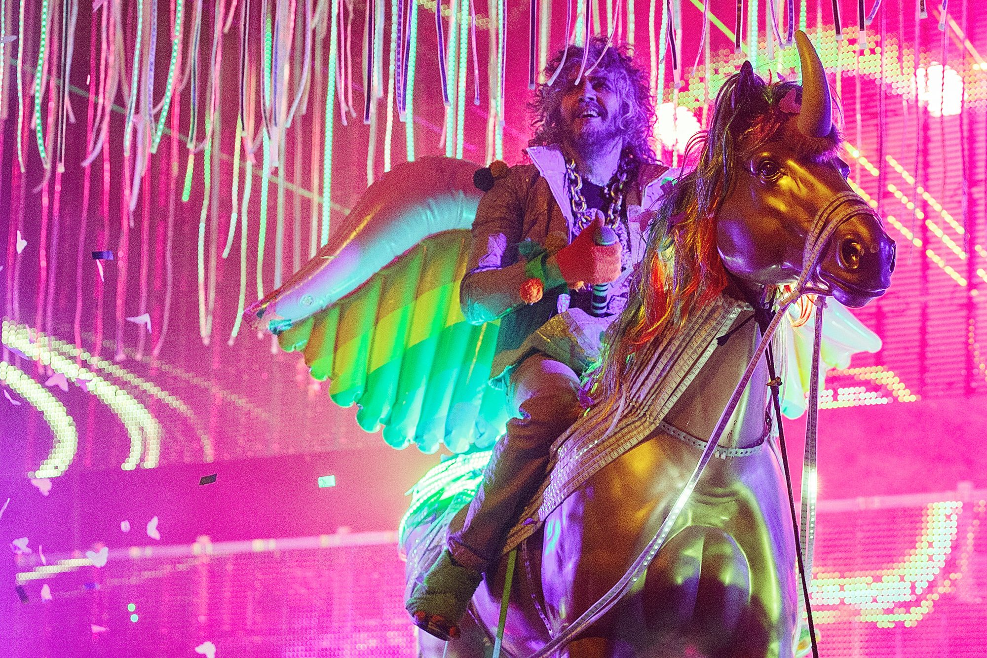 The Flaming Lips Perform At Queen Elizabeth Theatre