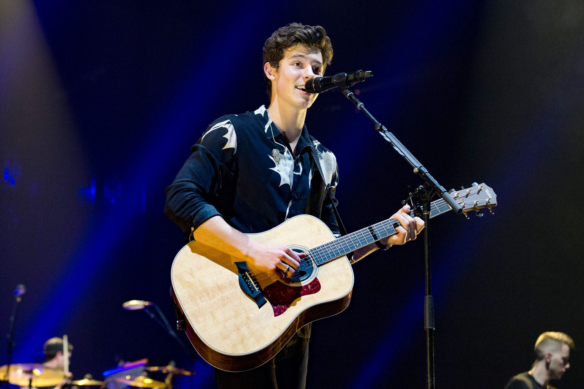 Shawn Mendes Performs At AccorHotels Arena