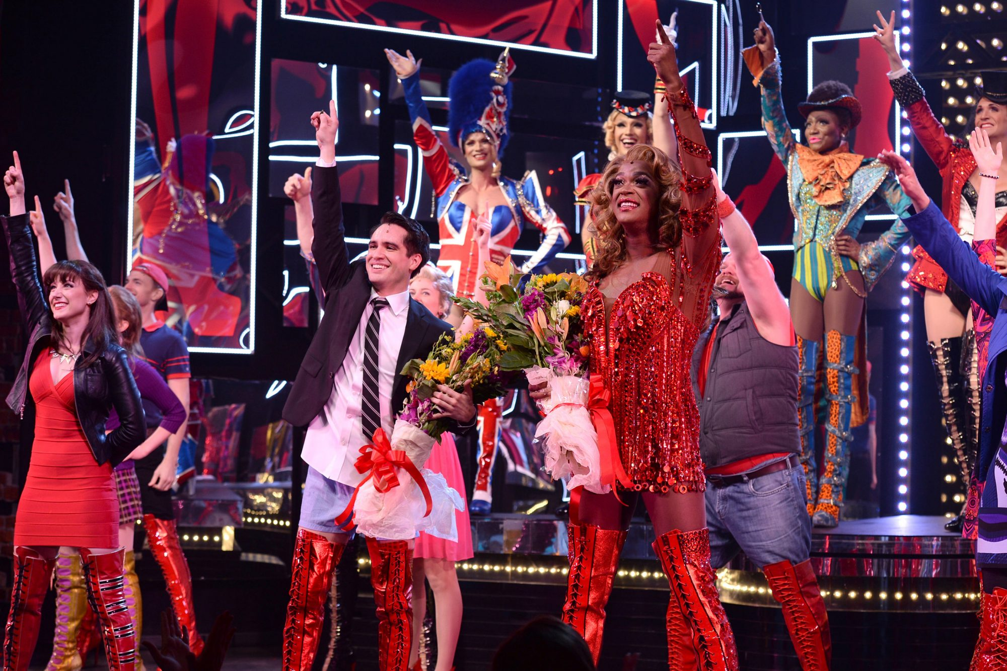 "Brendon Urie Makes His Broadway Debut In ""Kinky Boots"""
