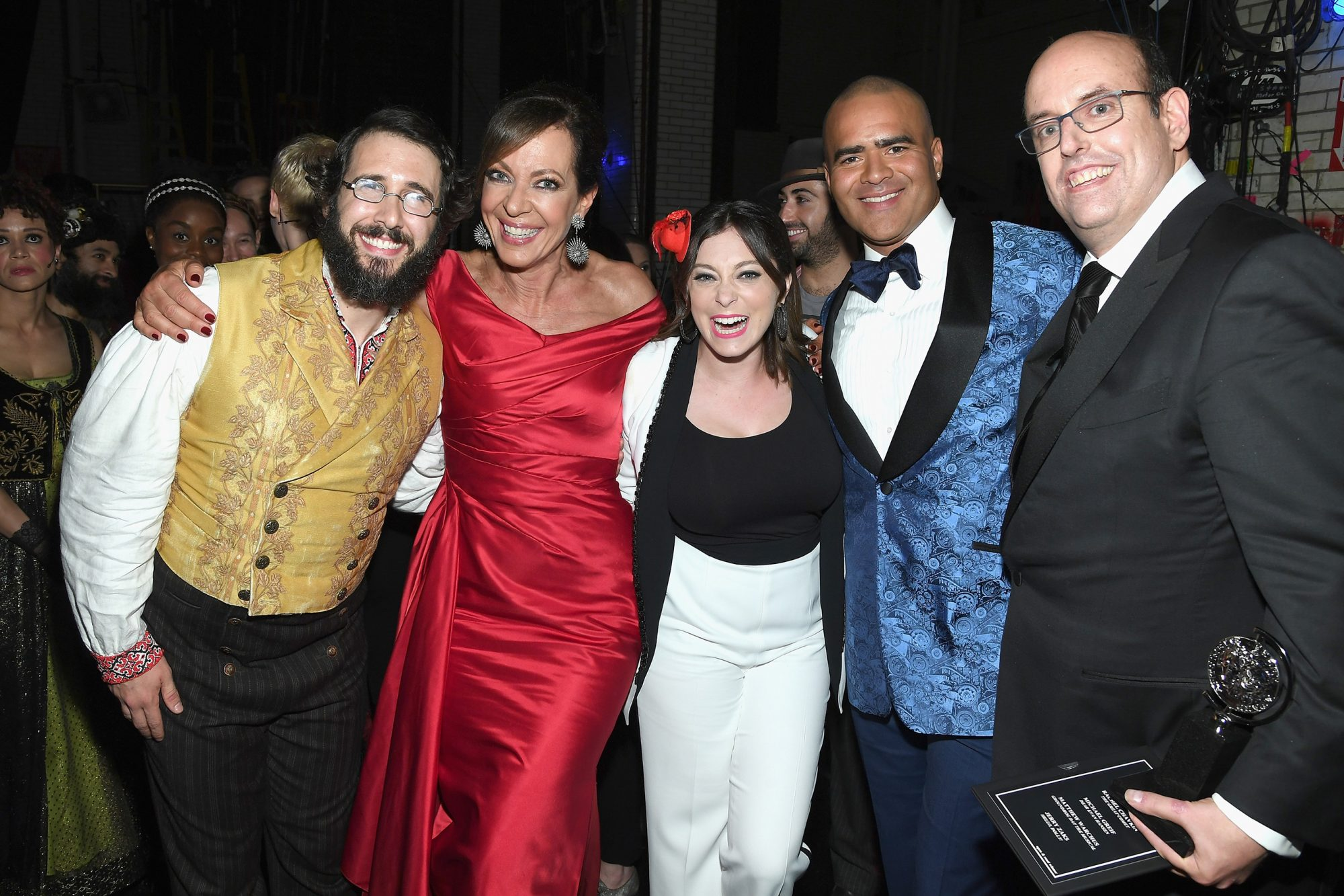 With Josh Groban, Allison Janney, Christopher Jackson and Christopher Ashley