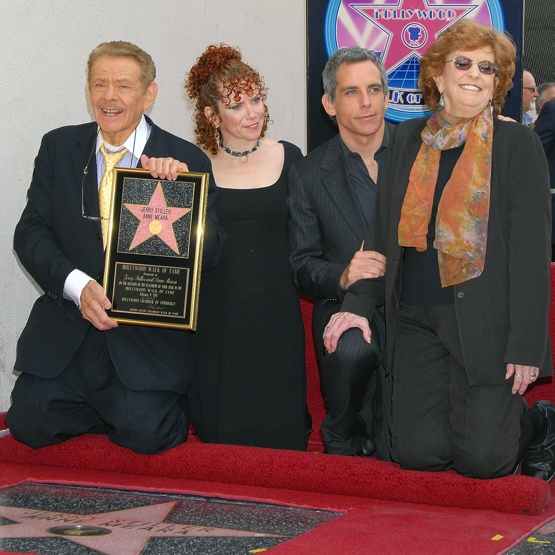 Jerry Stiller Honored With A Star On The Hollywood Walk Of Fame