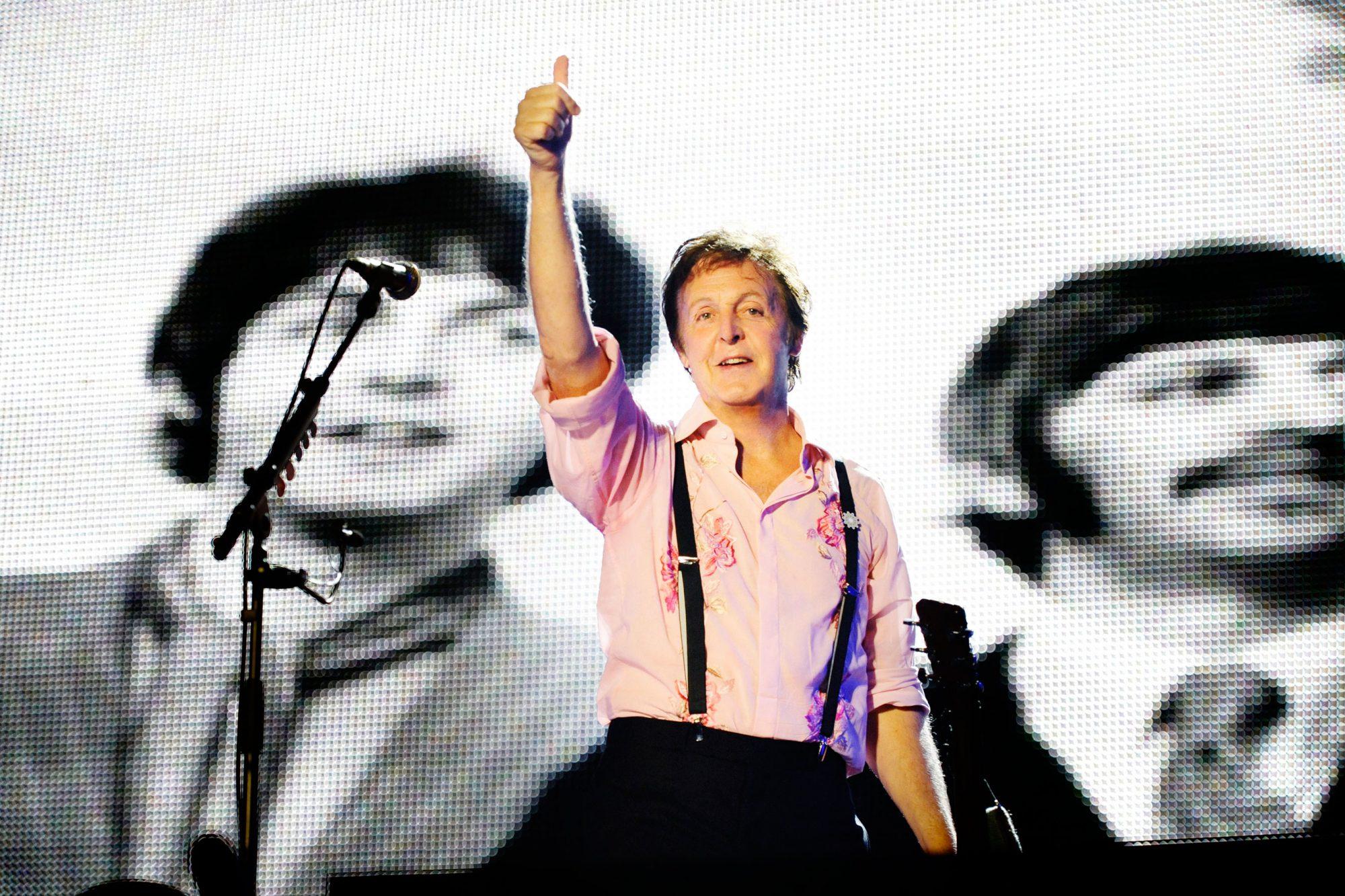 Paul McCartney 'Friendship First' Concert