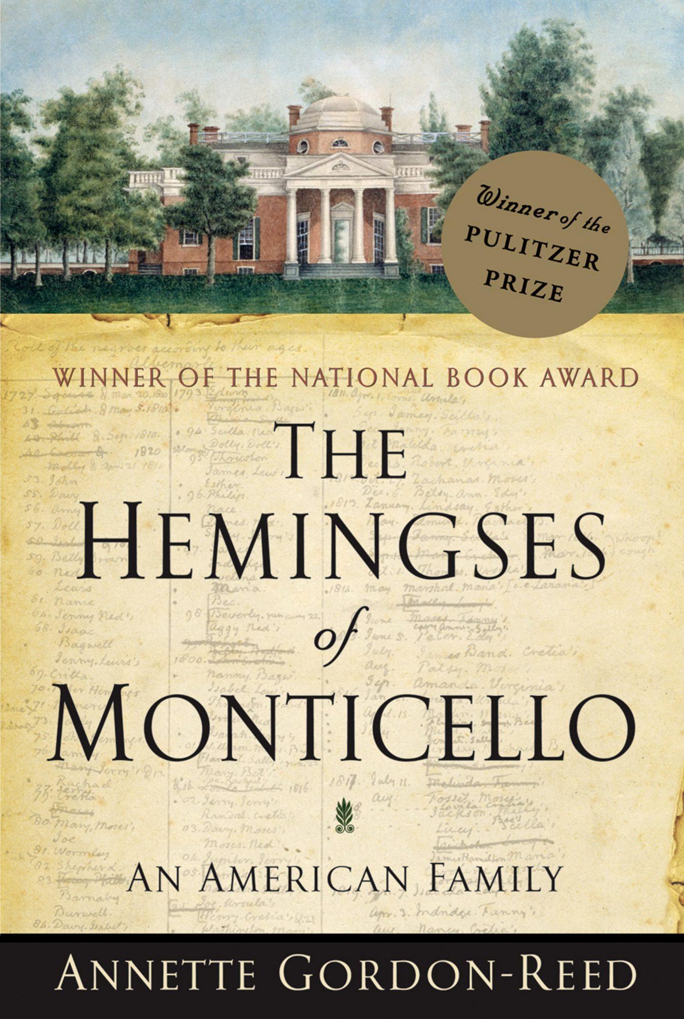 Annette Gordon-Reed, The Hemingses of Monticello