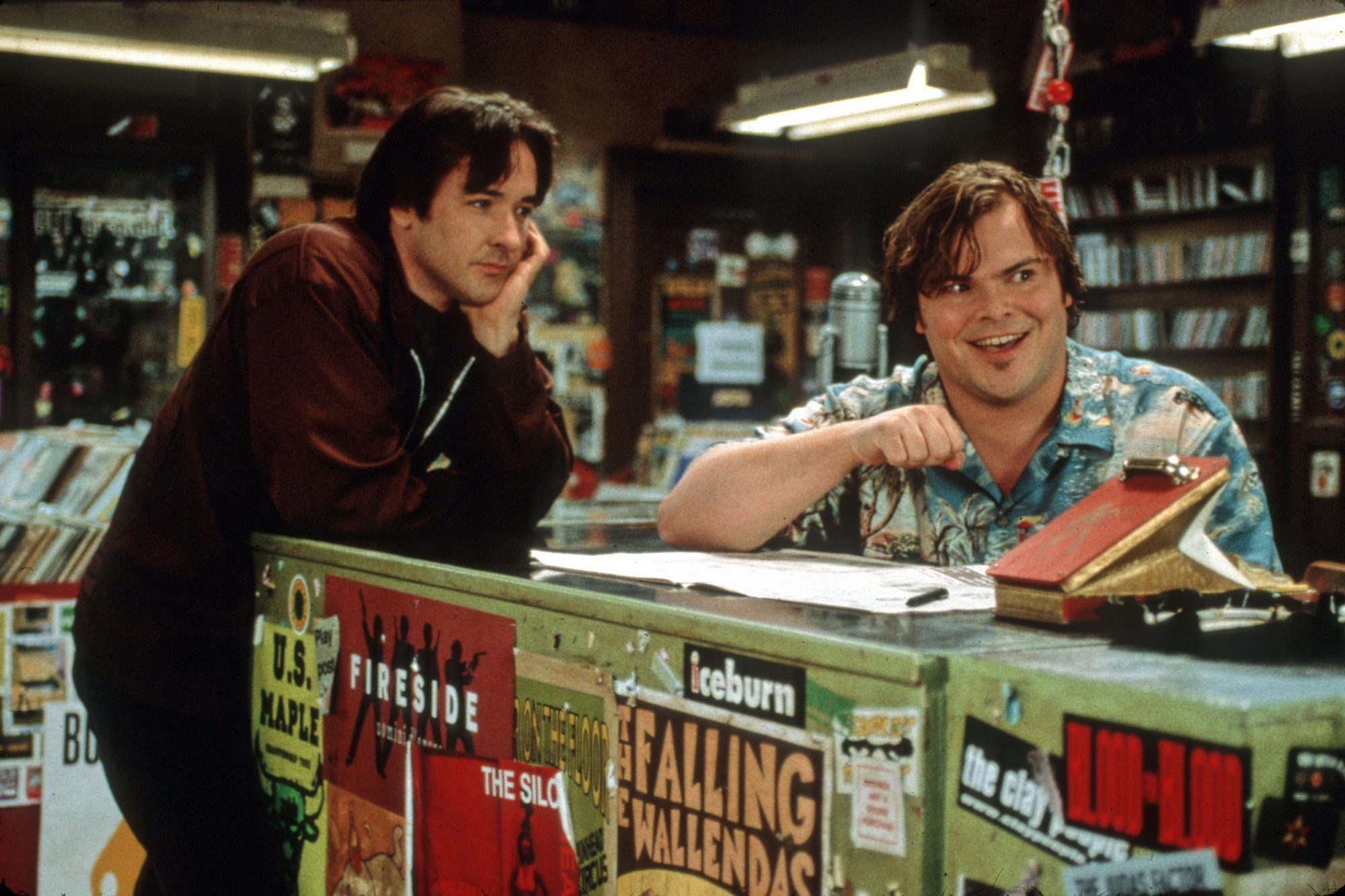 HIGH FIDELITY JOHN CUSACK, JACK BLACK Picture from the Ronal