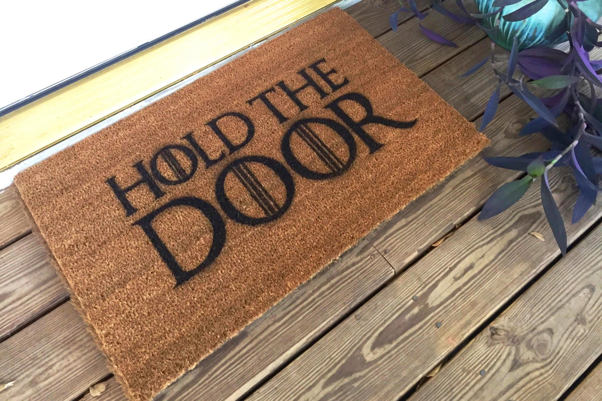 Game of Thrones - Hold The Door mat$36.99SouthBySouthHome