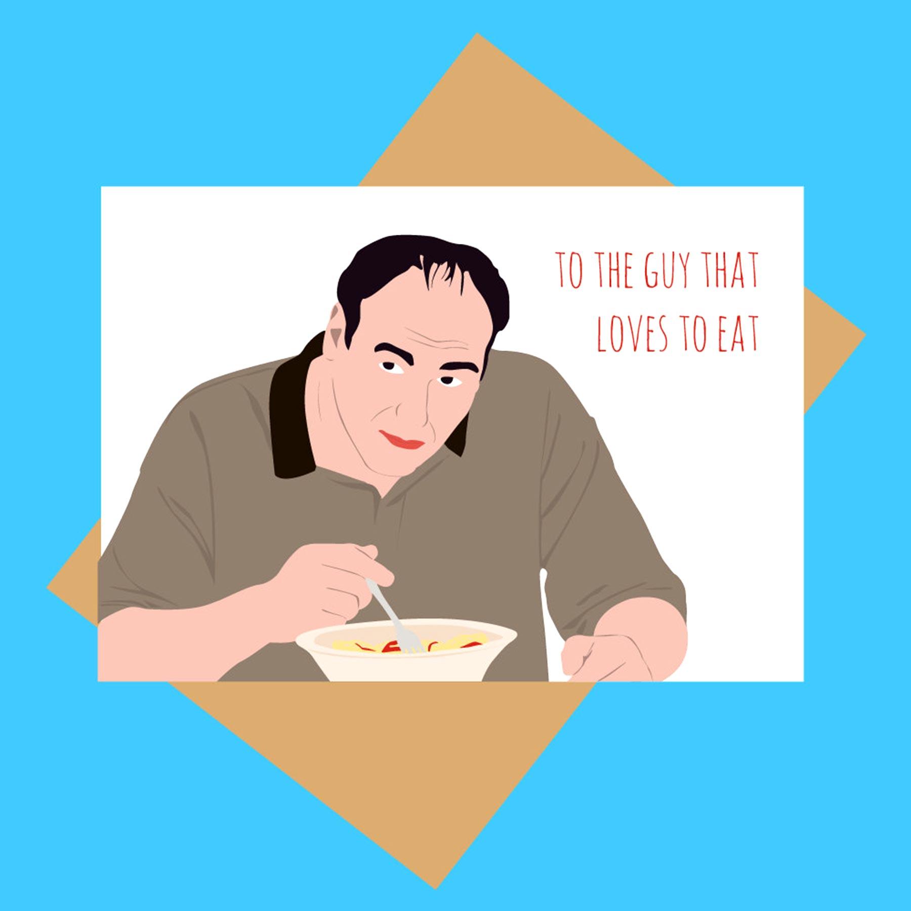 Sopranos card - Tony Soprano - Funny Father's Day card$4.24MeetMeInShermer