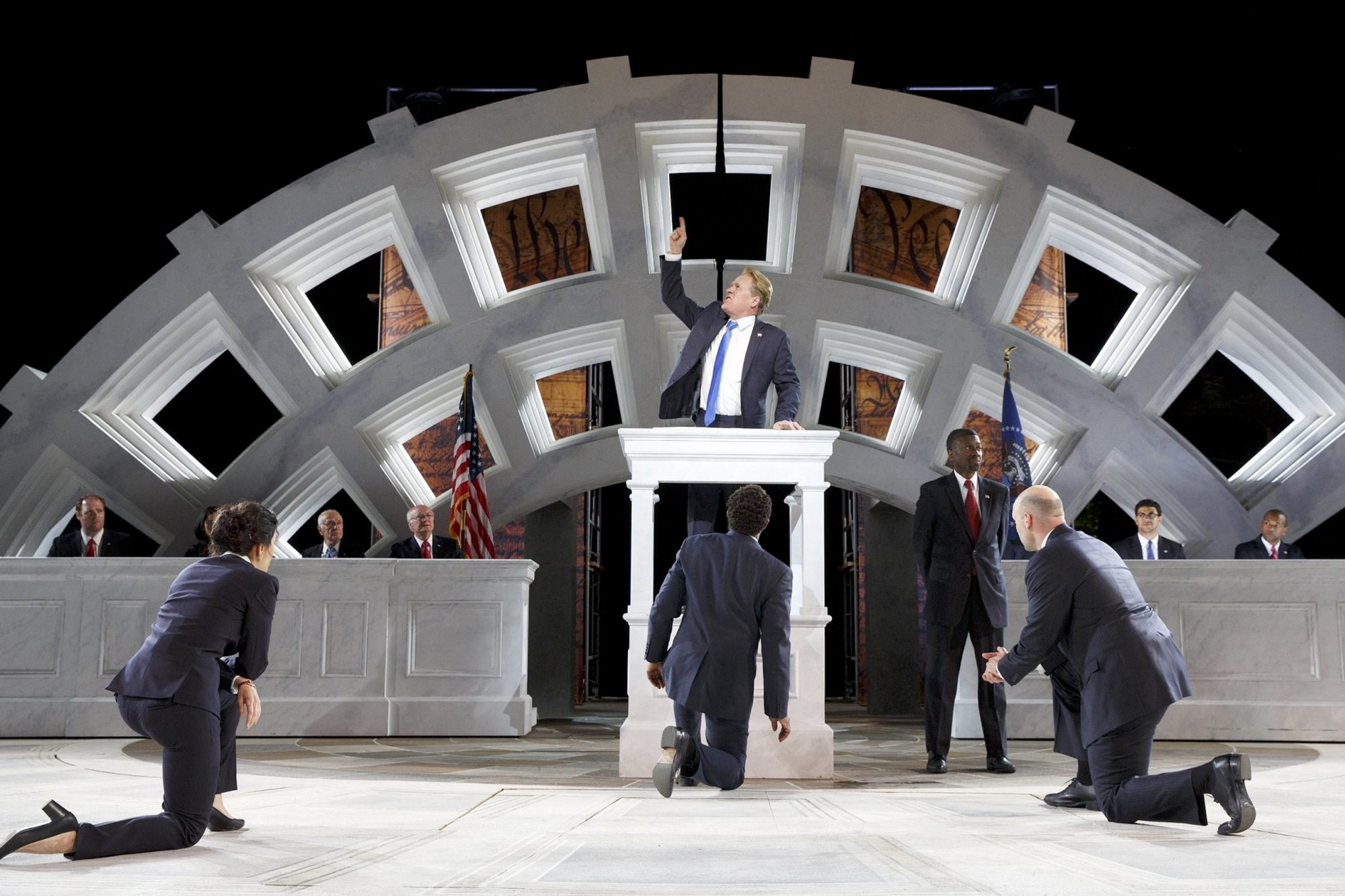 Delta and Bank of America abandon Trump-like 'Julius Caesar'