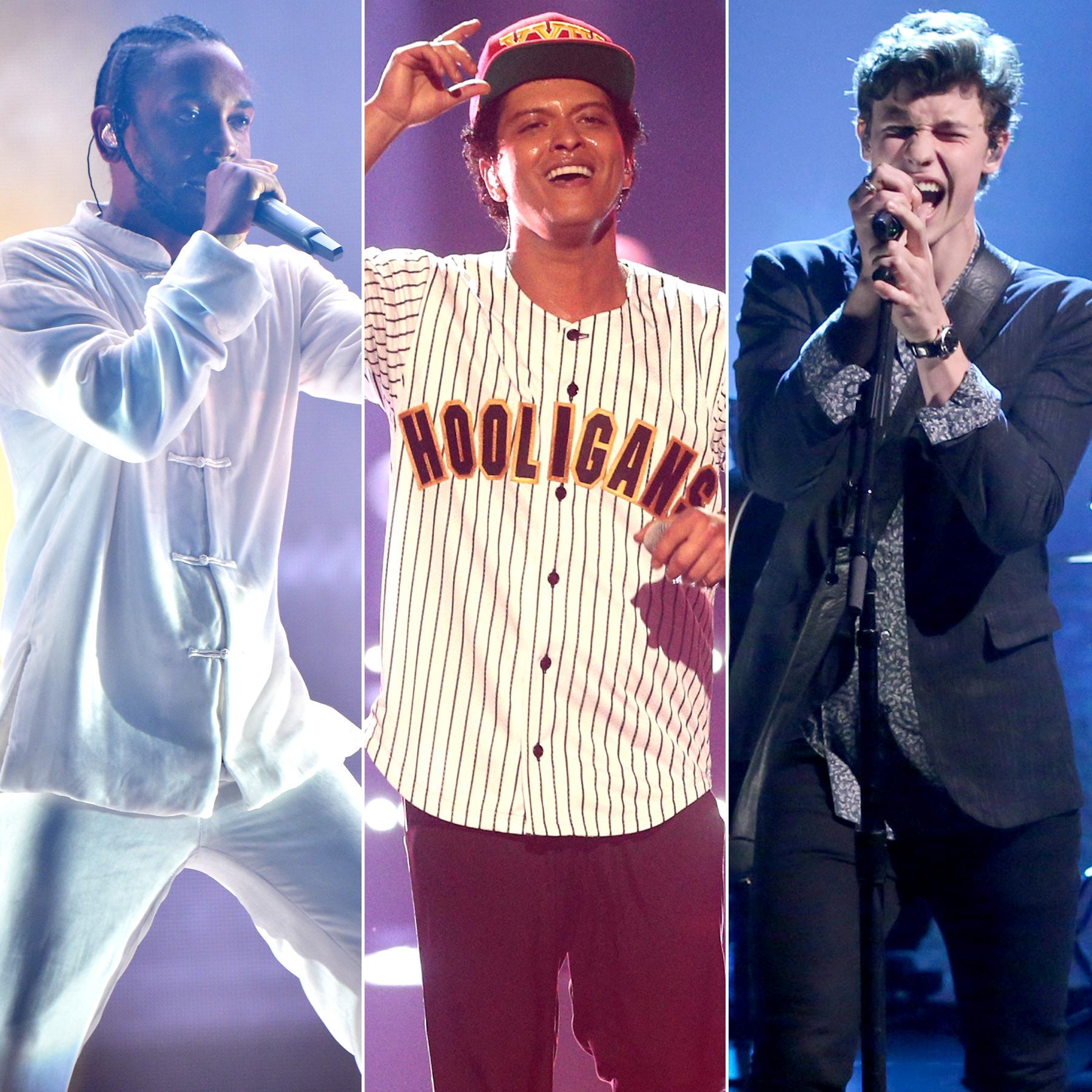 Kendrick Lamar/ Bruno-Mars/ Shawn-Mendes
