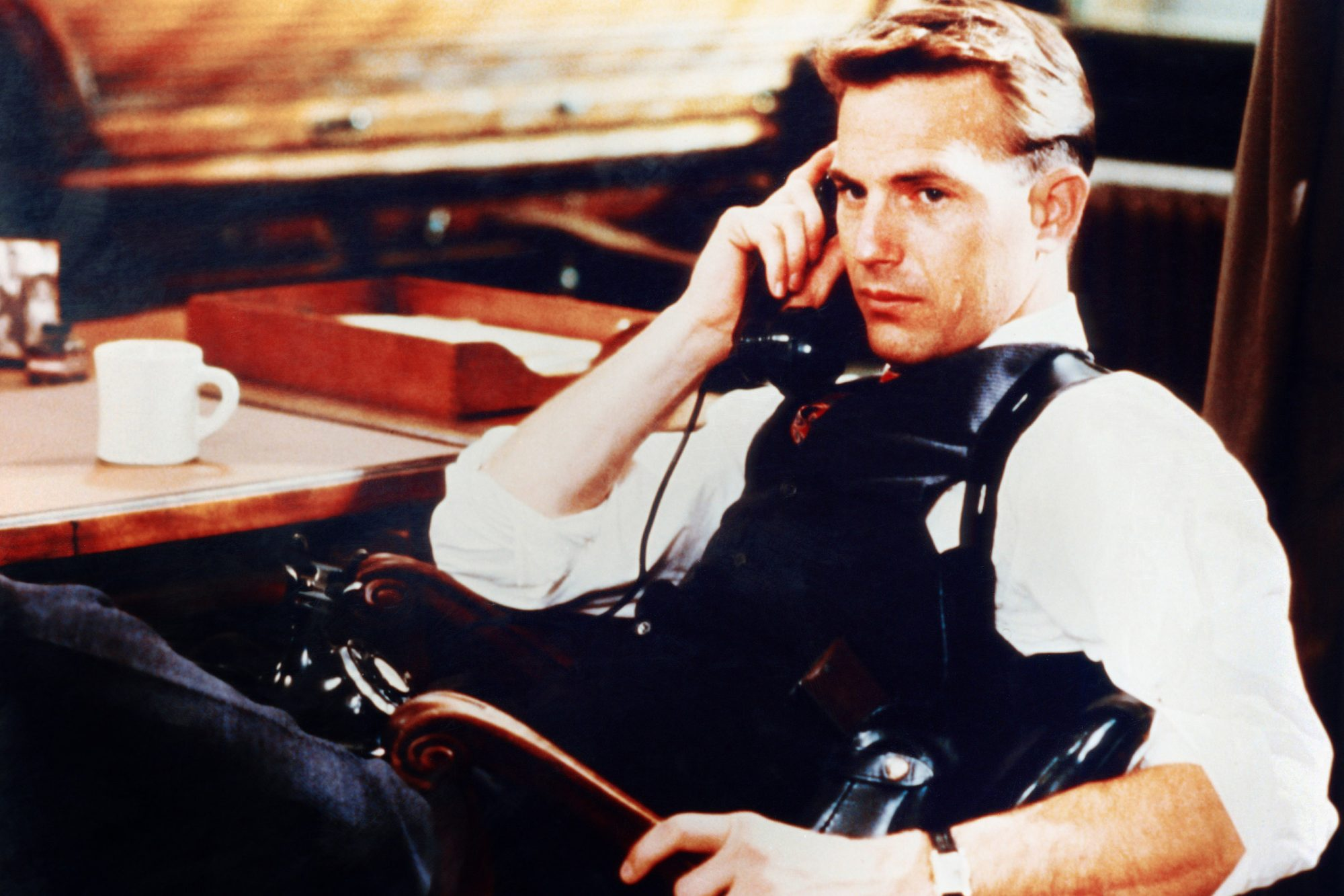 THE UNTOUCHABLES, Kevin Costner, 1987, © Paramount/courtesy Everett Collection