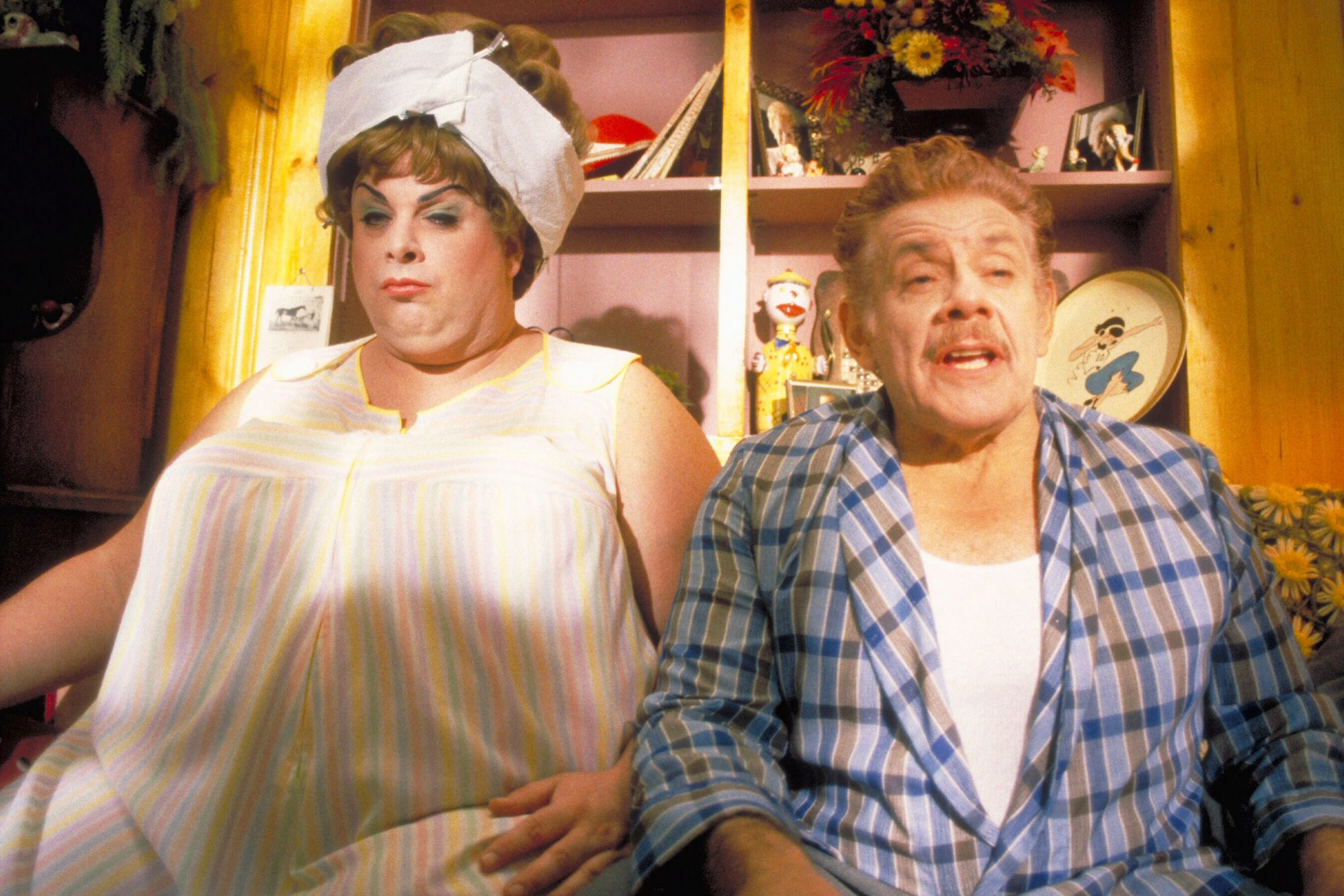 HAIRSPRAY, Divine, Jerry Stiller, 1988, (c) New Line/courtesy Everett Collection