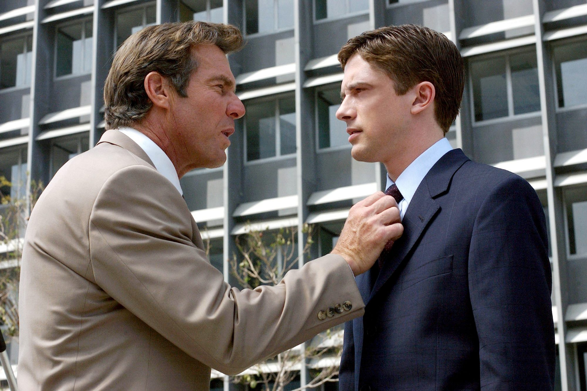 IN GOOD COMPANY, Dennis Quaid, Topher Grace, 2004, (c) Universal/courtesy Everett Collection