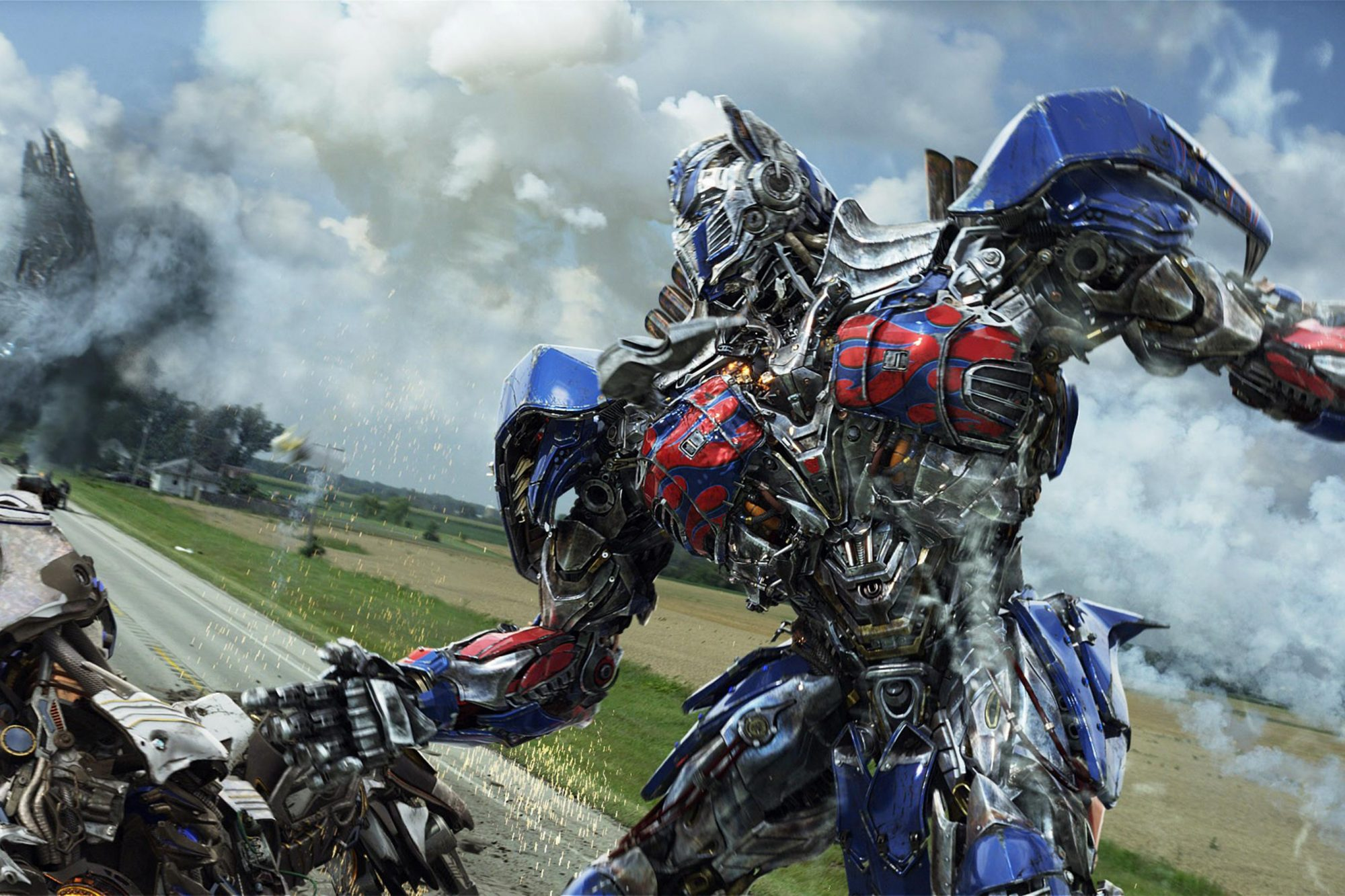 TRANSFORMERS: AGE OF EXTINCTION, Optimus Prime, 2014. ph: Industrial Light & Magic/©Paramount