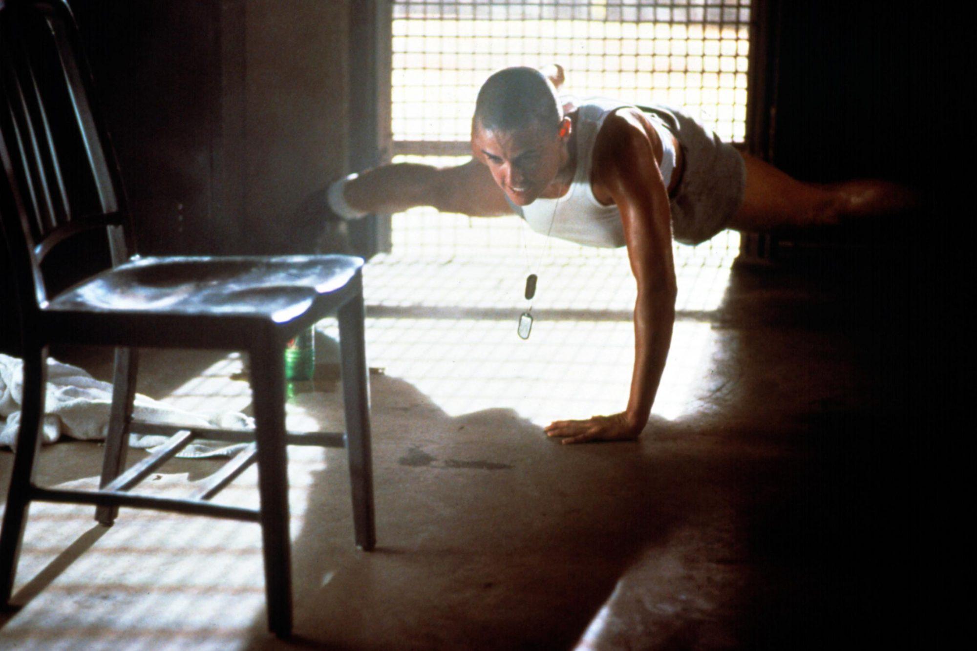 G.I. JANE, Demi Moore, 1997