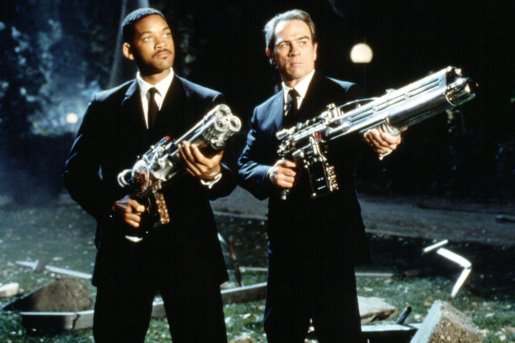 MEN IN BLACK, Will Smith, Tommy Lee Jones, 1997