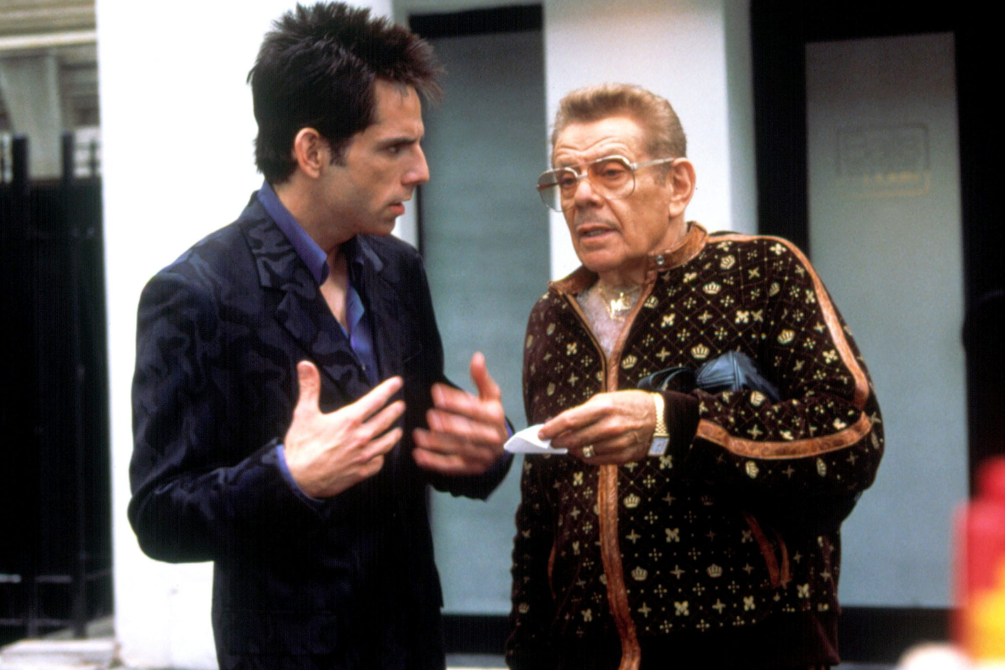 ZOOLANDER, Ben Stiller, Jerry Stiller, 2001. ©Paramount/courtesy Everett Collection