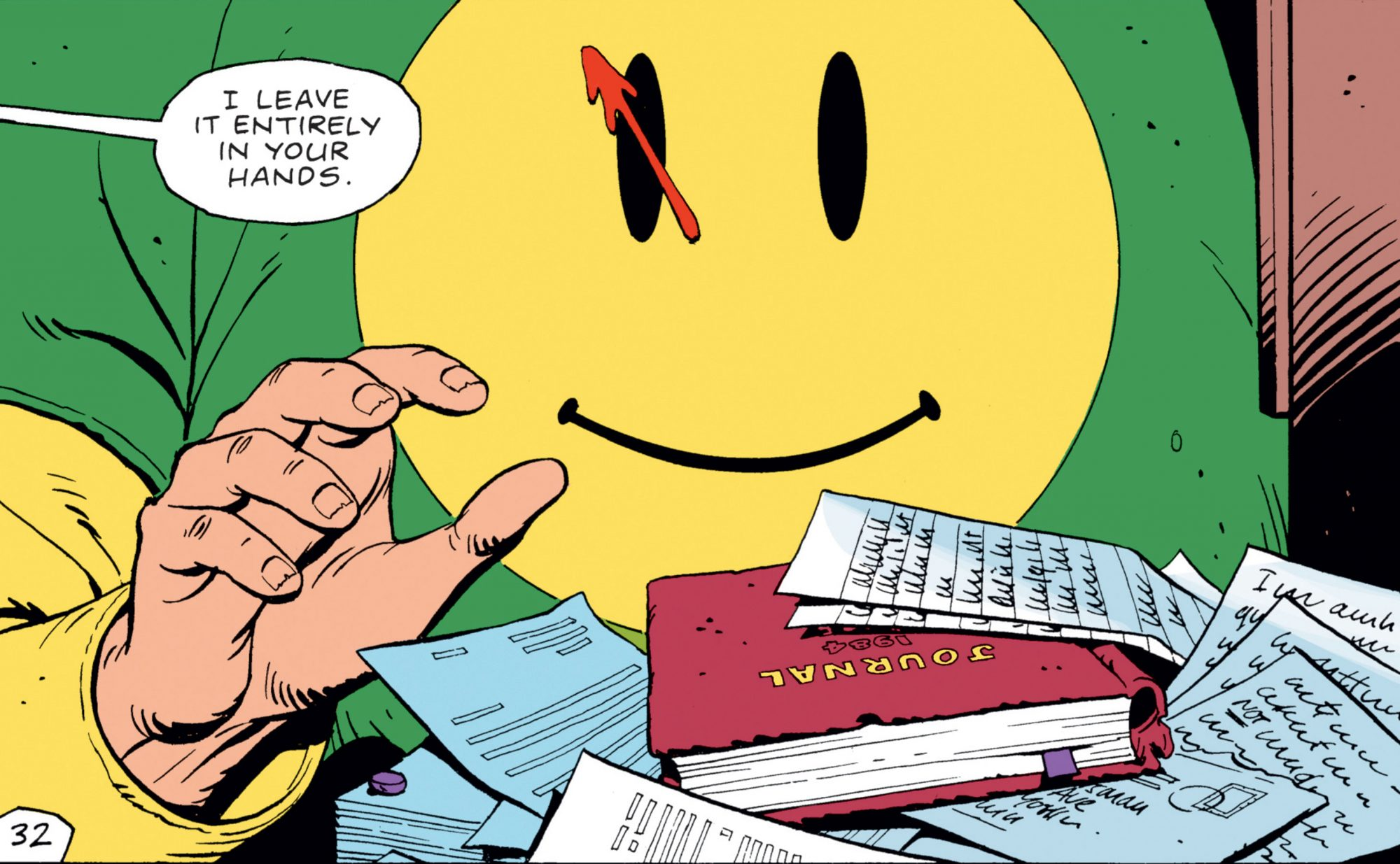 The WatchmenCREDIT:ALAN MOORE & DAVE GIBBONS/DC COMICS