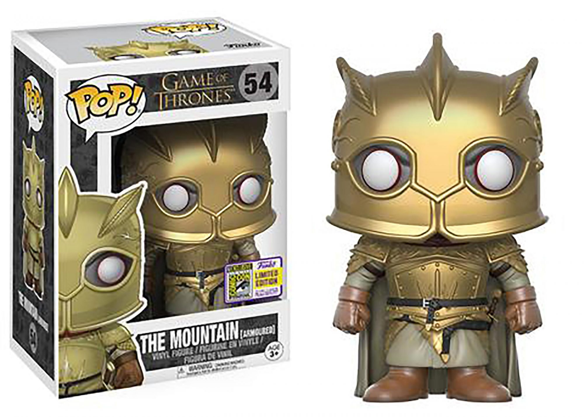 Pop! Game of Thrones: The Mountain (Armored)
