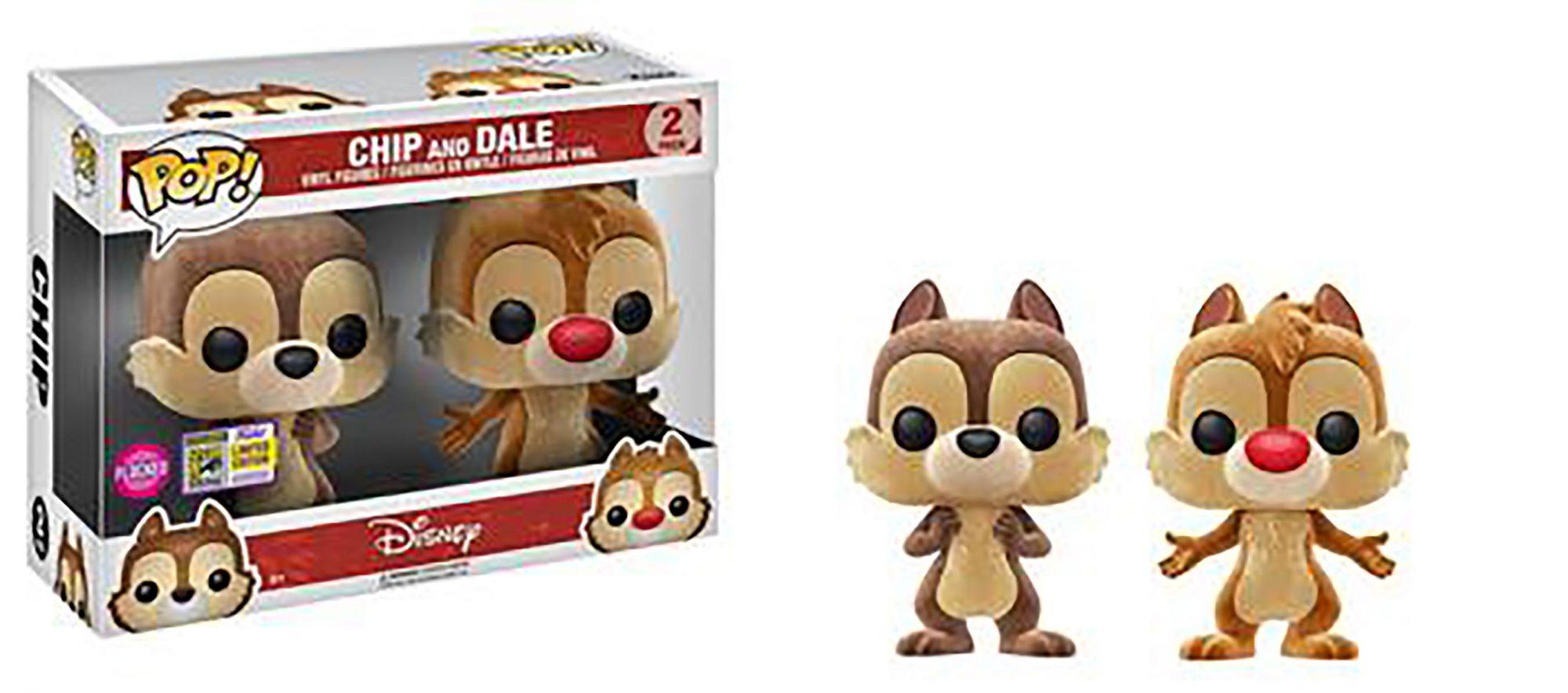 Pop! Disney: Chip & Dale 2-pack (Flocked)