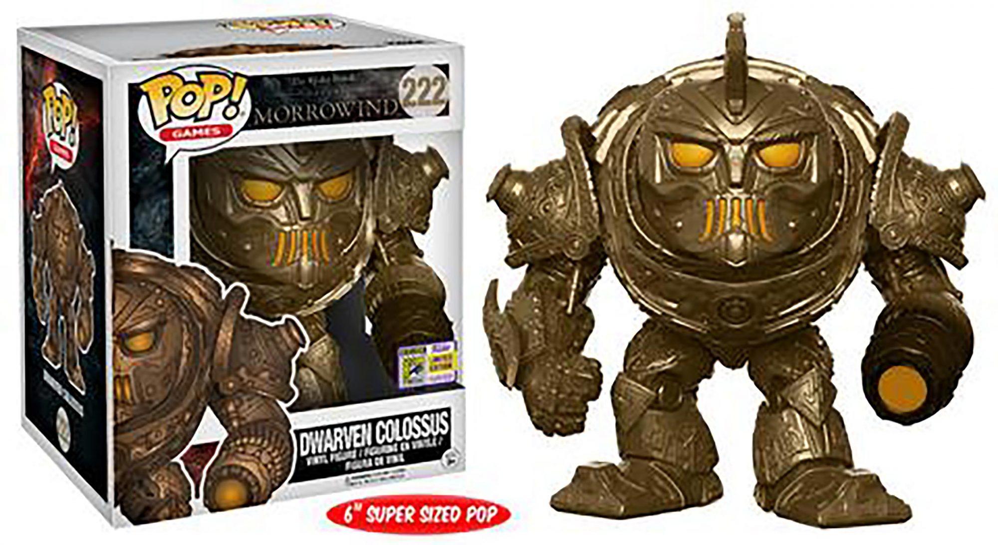 """Pop! Games: Elder Scrolls – 6"""" Dwarven Colossus"""