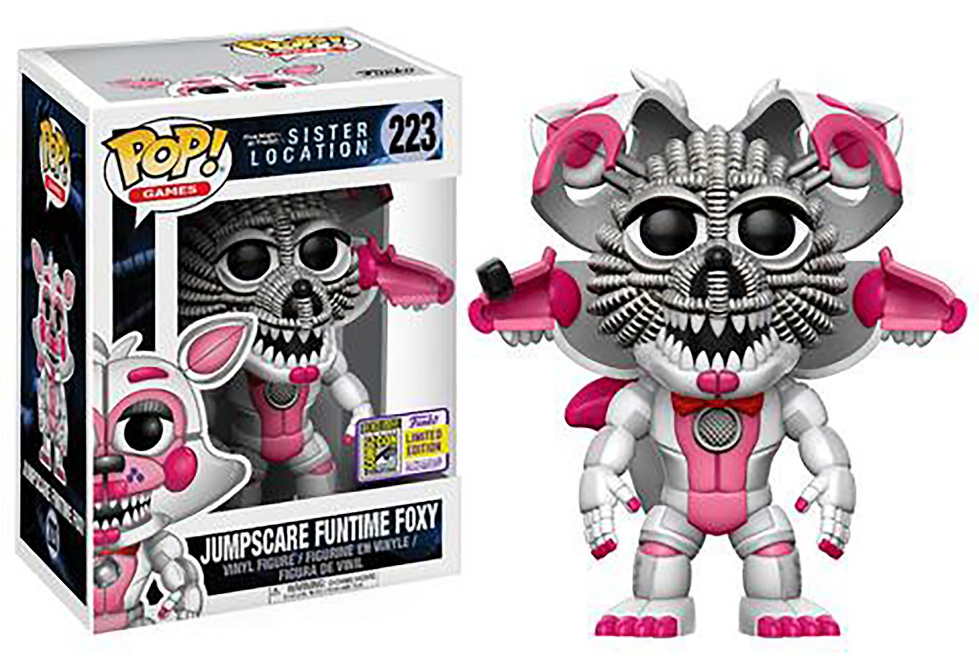 Pop! Games: Sister Location – Jumpscare Funtime Foxy