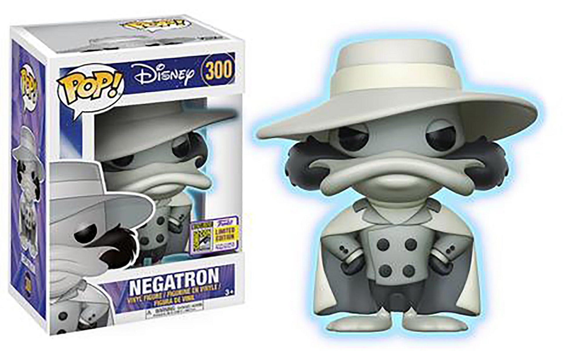 Pop! Disney: Darkwing Duck – Negatron (Glow-in-the-Dark)